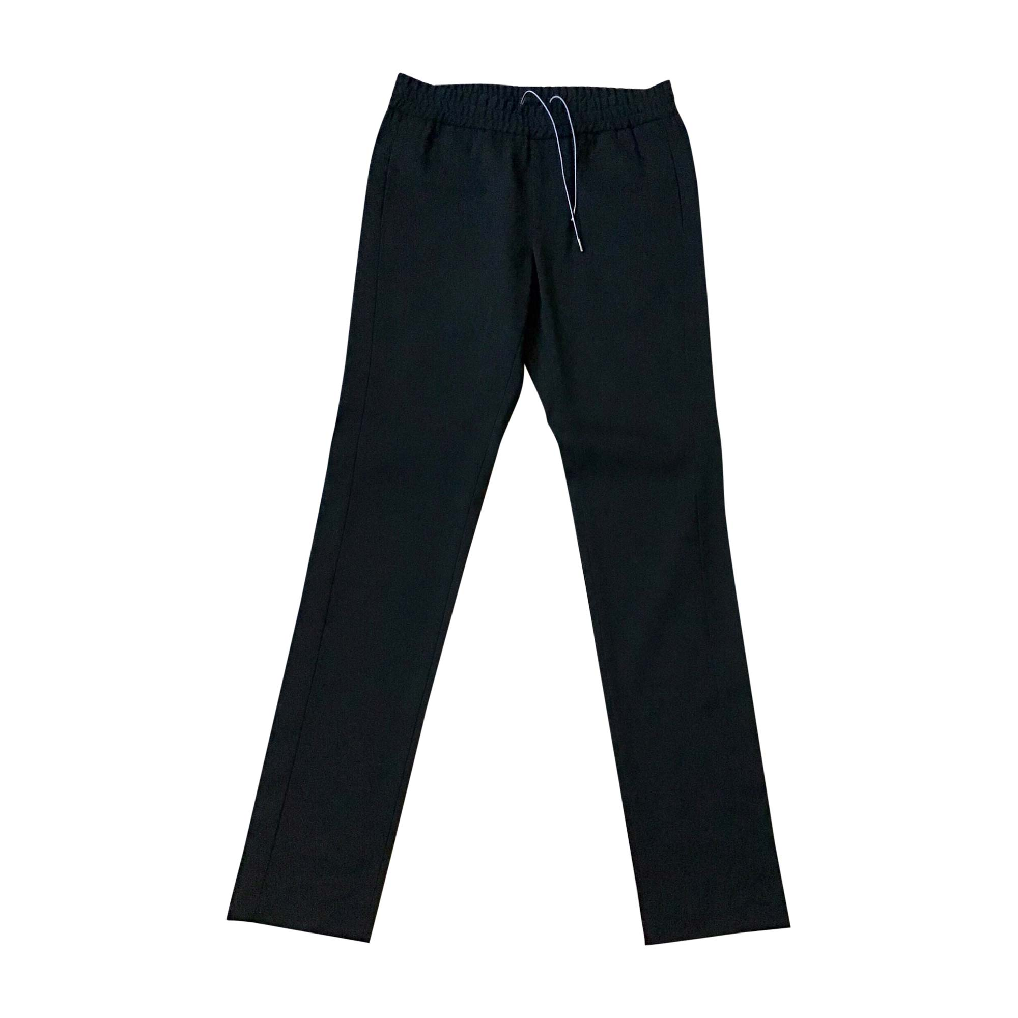 Pantalon droit EMPORIO ARMANI Noir