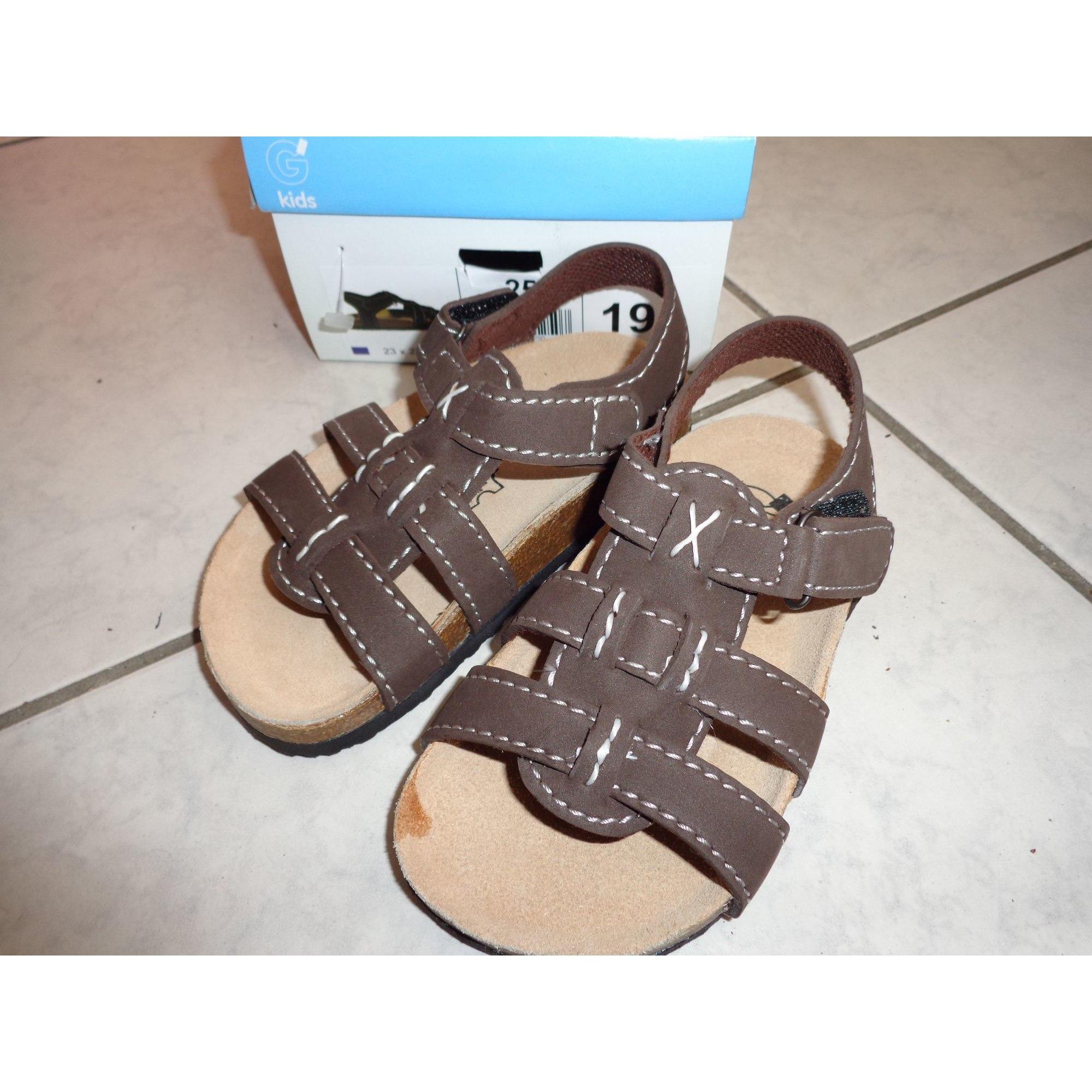 Sandals GÉMO Brown