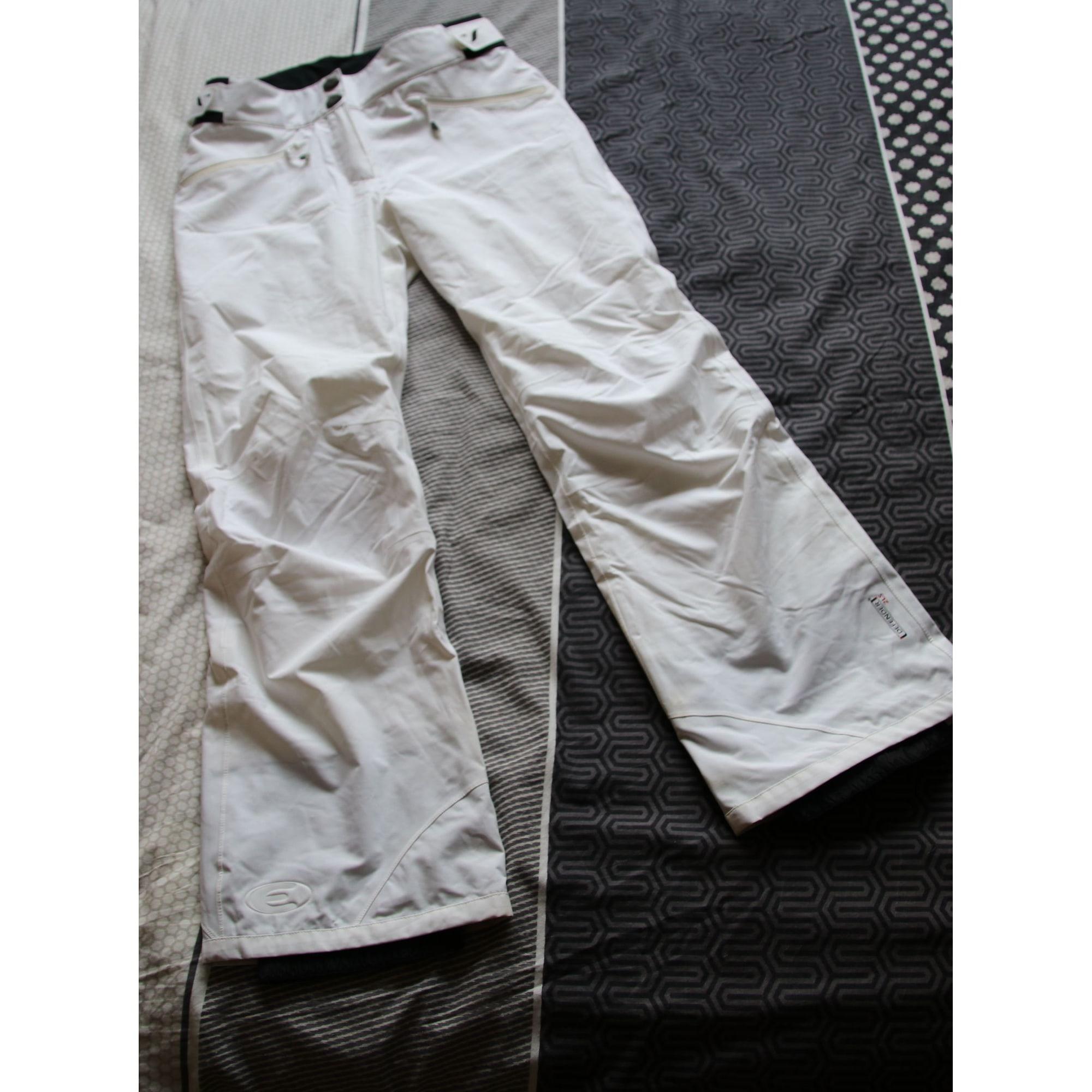 Pantalon de ski EIDER Blanc, blanc cassé, écru