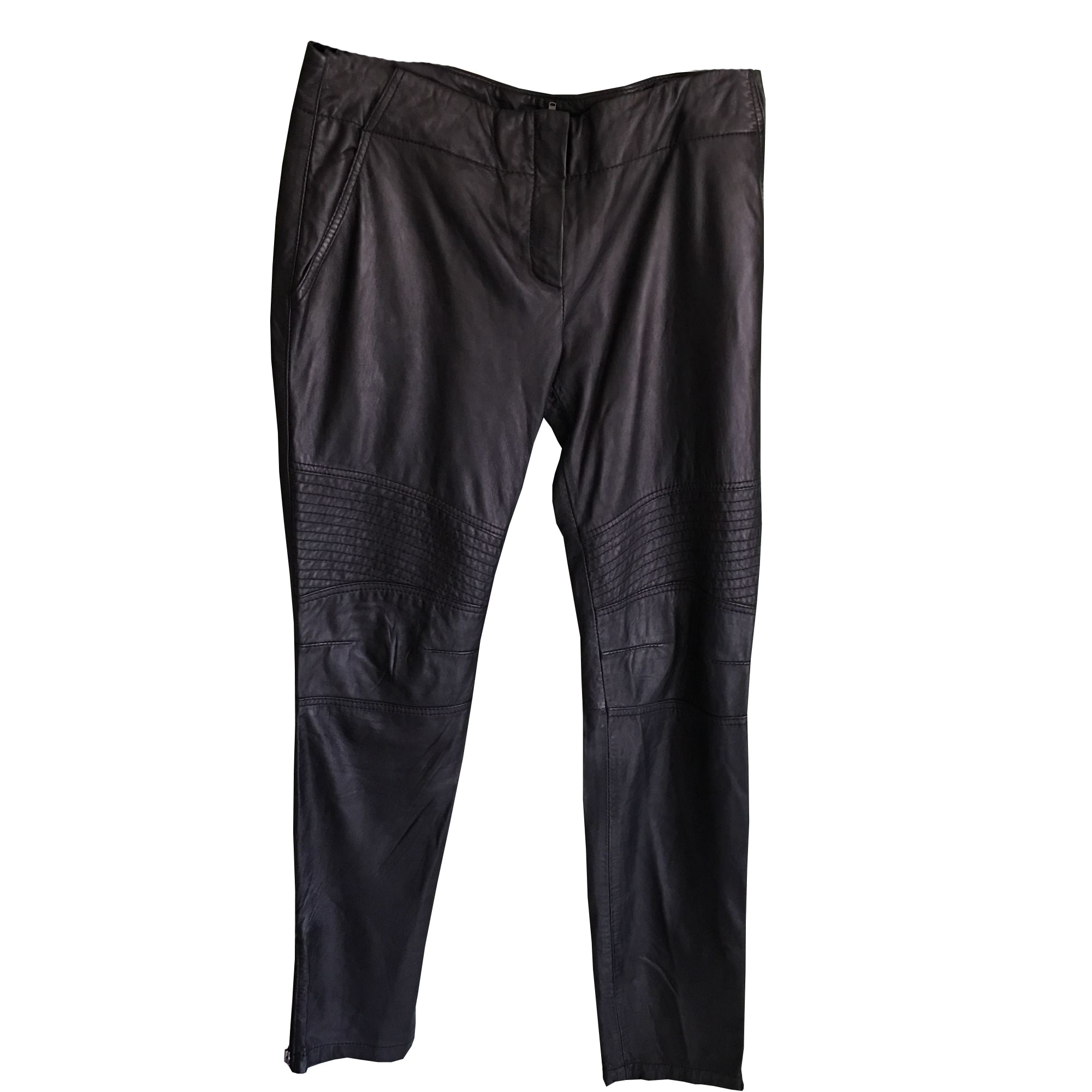 Pantalon slim, cigarette BEL AIR Noir