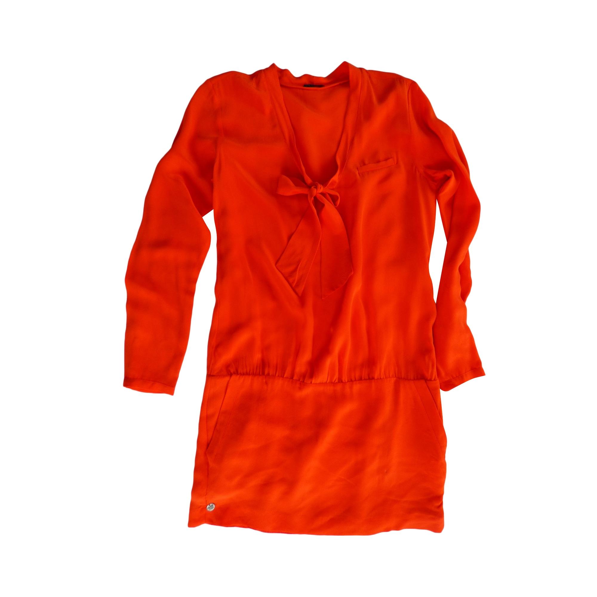Robe courte IKKS Rouge, bordeaux