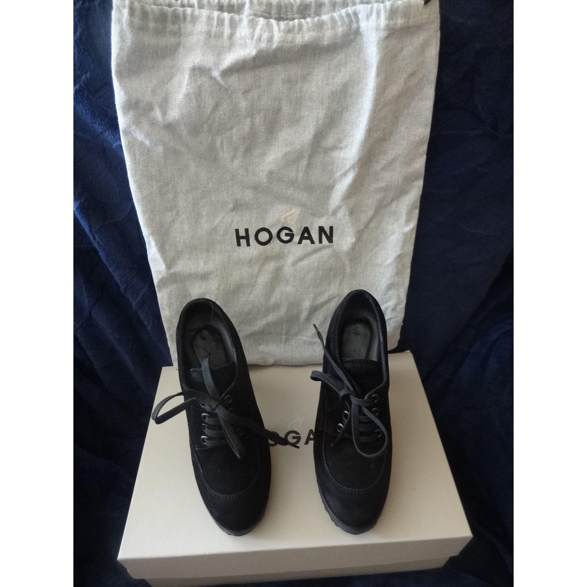 Chaussures à lacets  HOGAN Noir