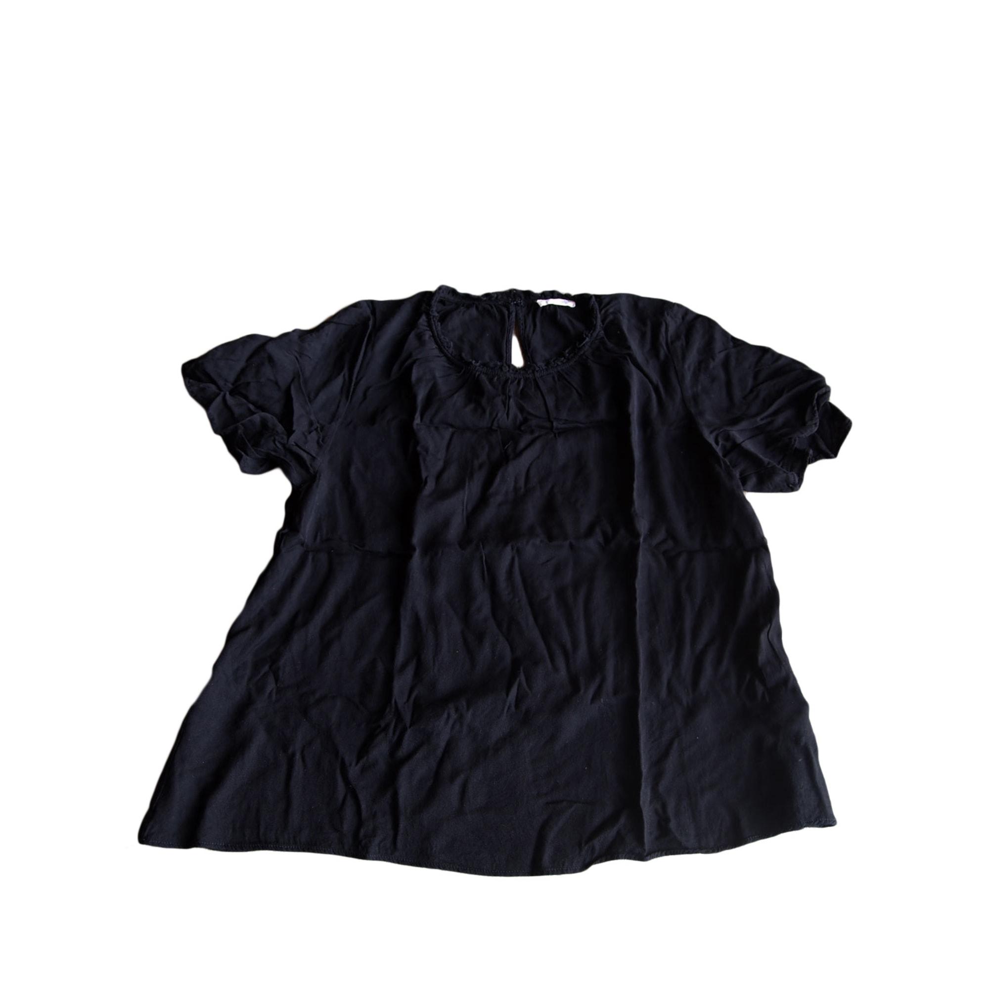Top, tee-shirt AMERICAN VINTAGE Noir