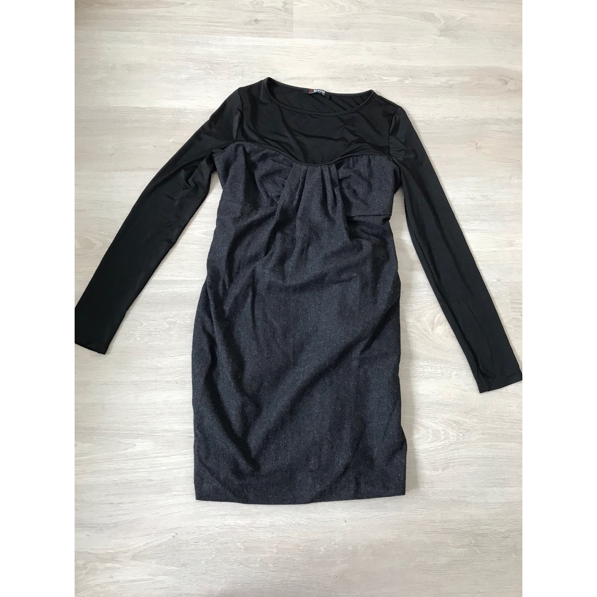 Robe courte MORGAN Gris, anthracite