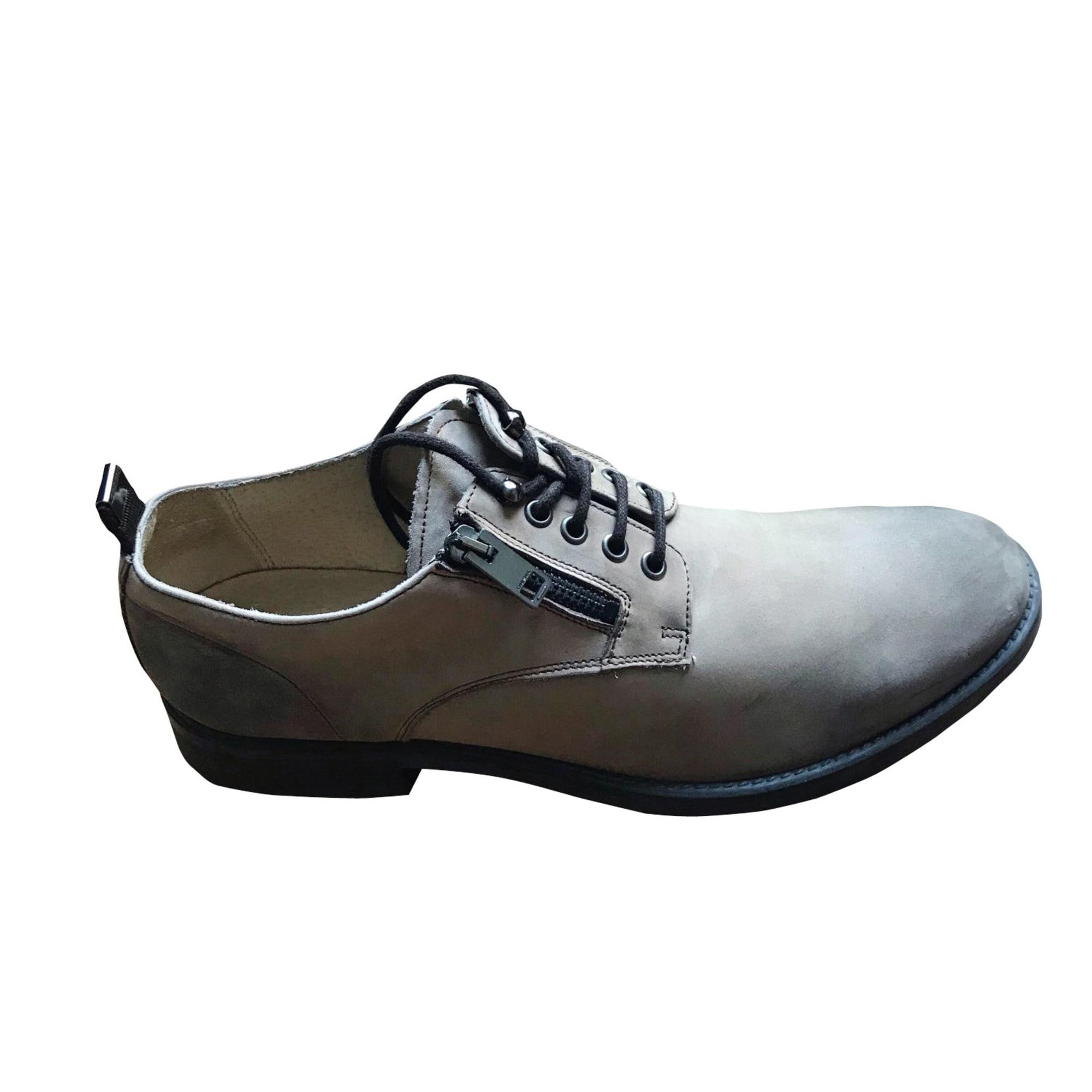 Lace Up Shoes DIESEL Beige, camel