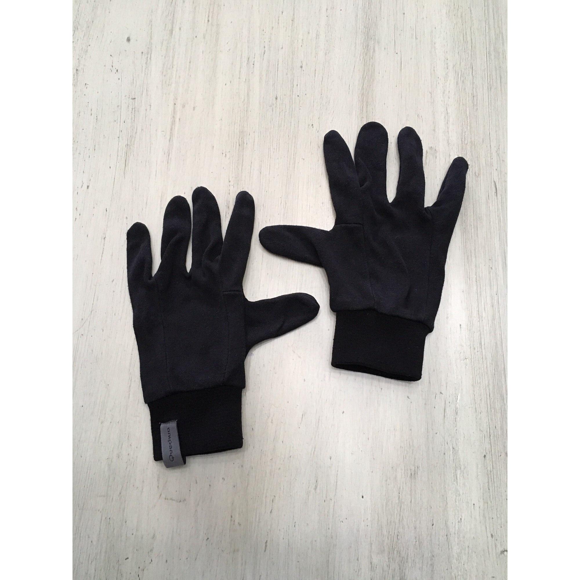 Gloves QUECHUA Black