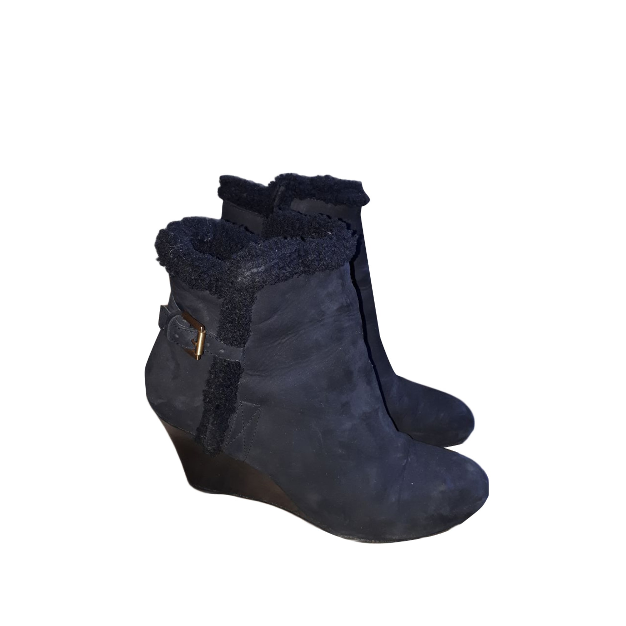 Wedge Ankle Boots GERARD DAREL Black