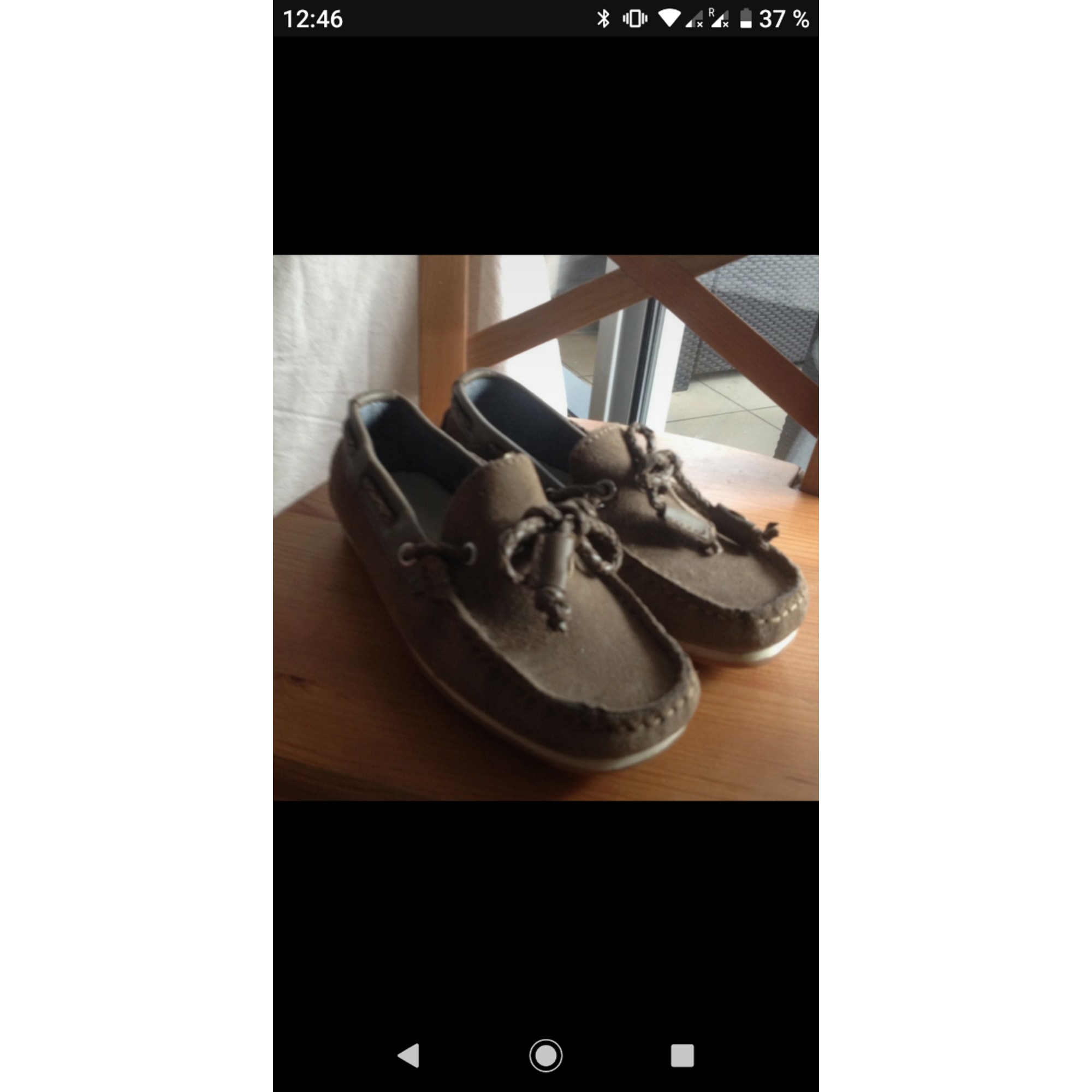 Loafers ZARA Brown