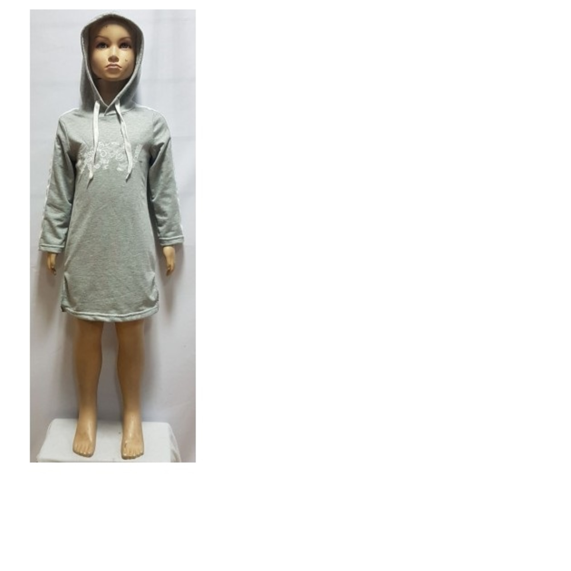 Robe CHICAPRIE Gris, anthracite