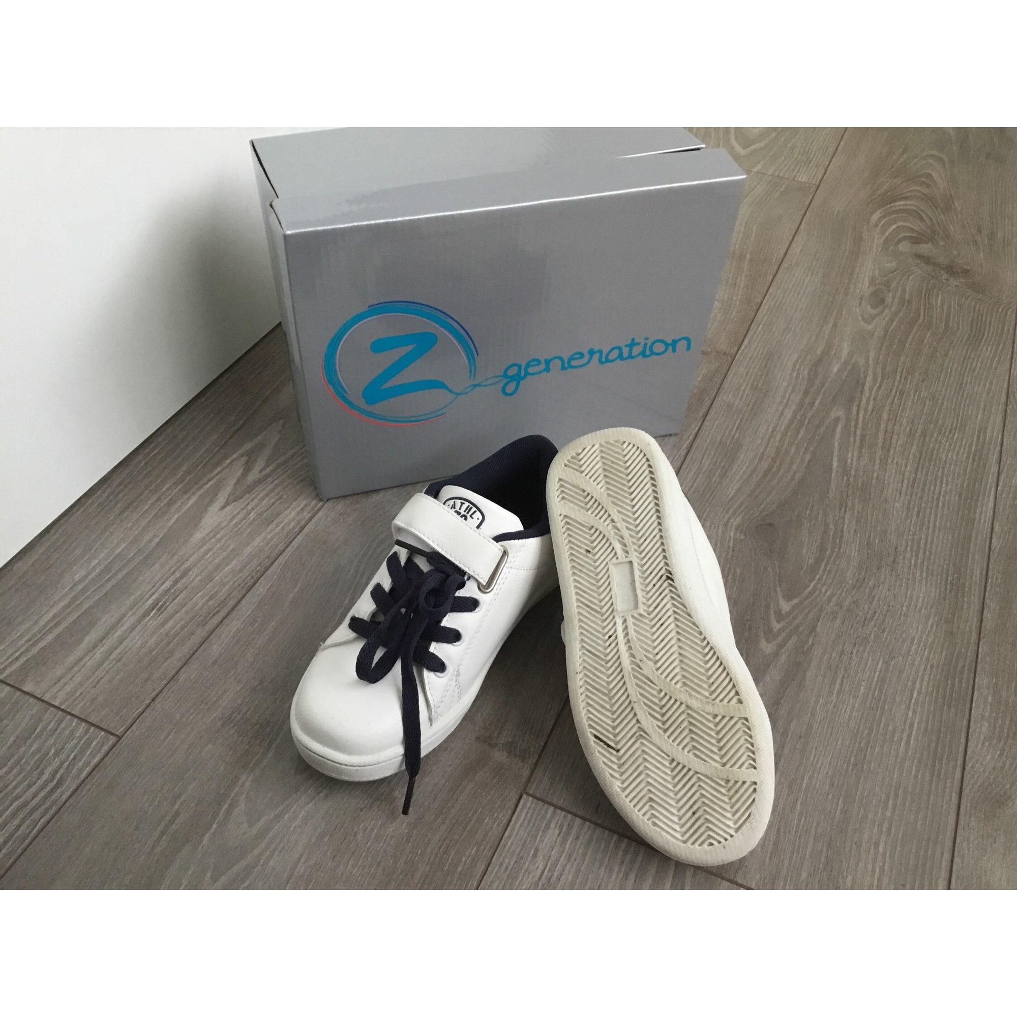 Baskets Z GENERATION Blanc, blanc cassé, écru
