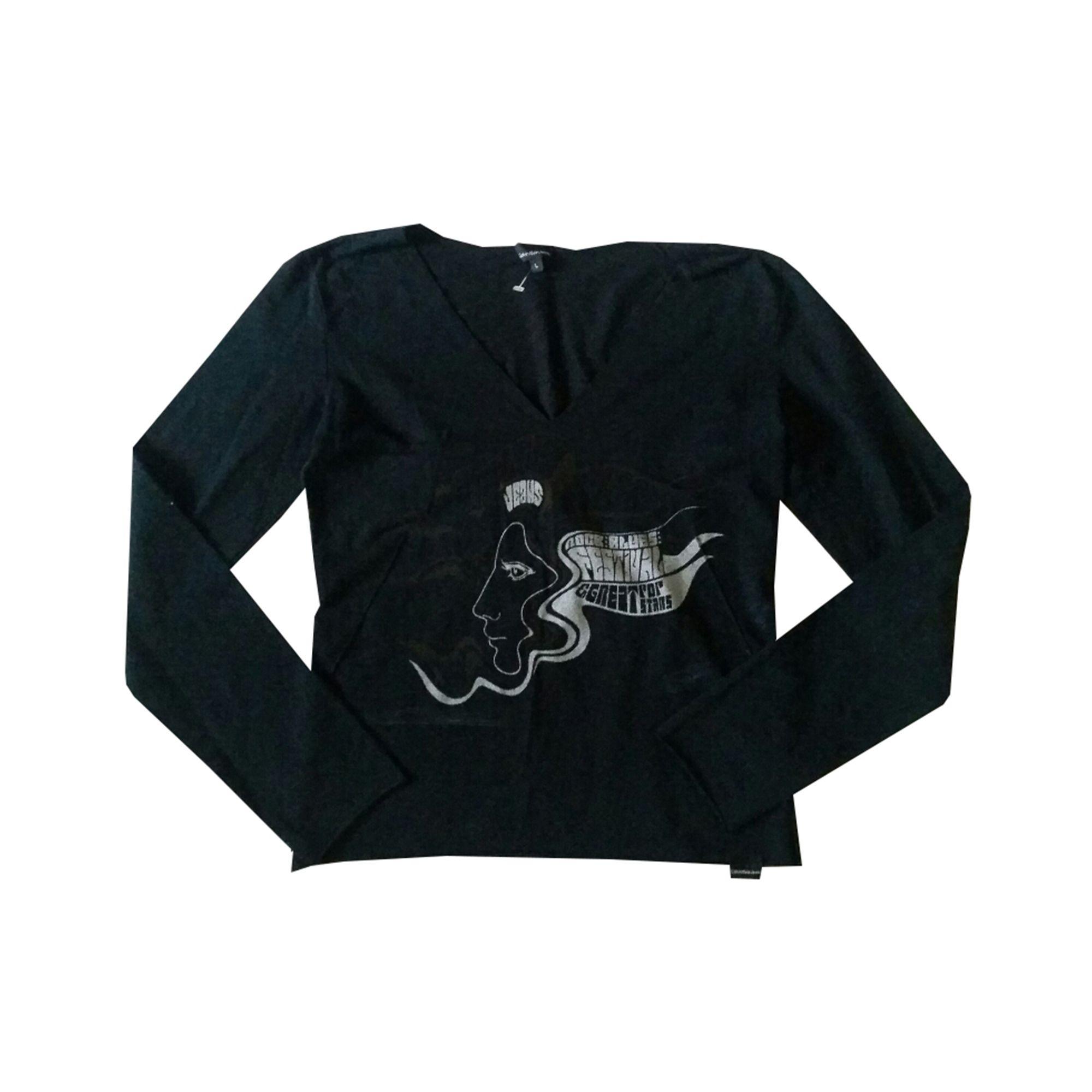 Top, tee-shirt CALVIN KLEIN Noir