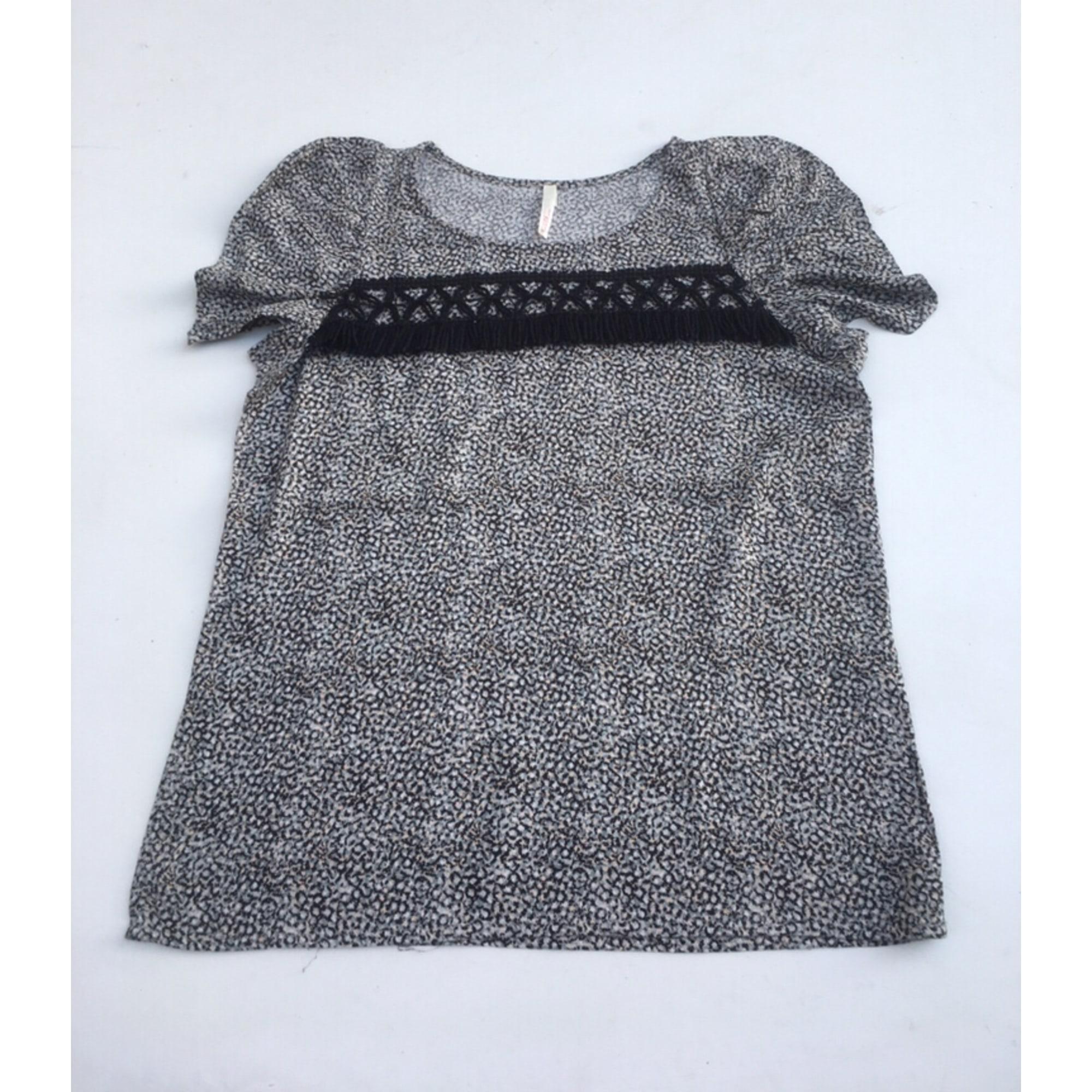 Top, tee-shirt I. CODE Noir