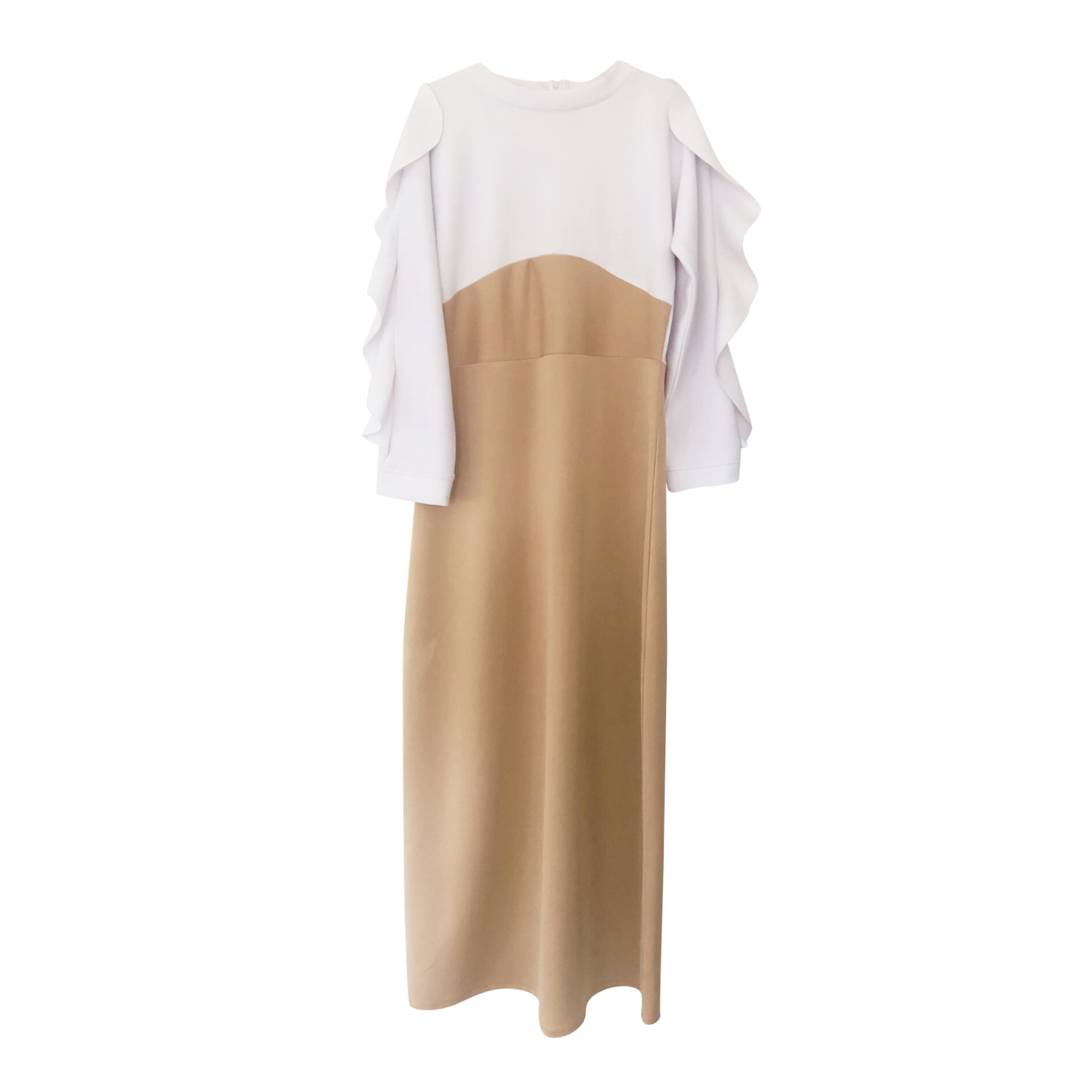 Robe longue RINASCIMENTO Beige, camel