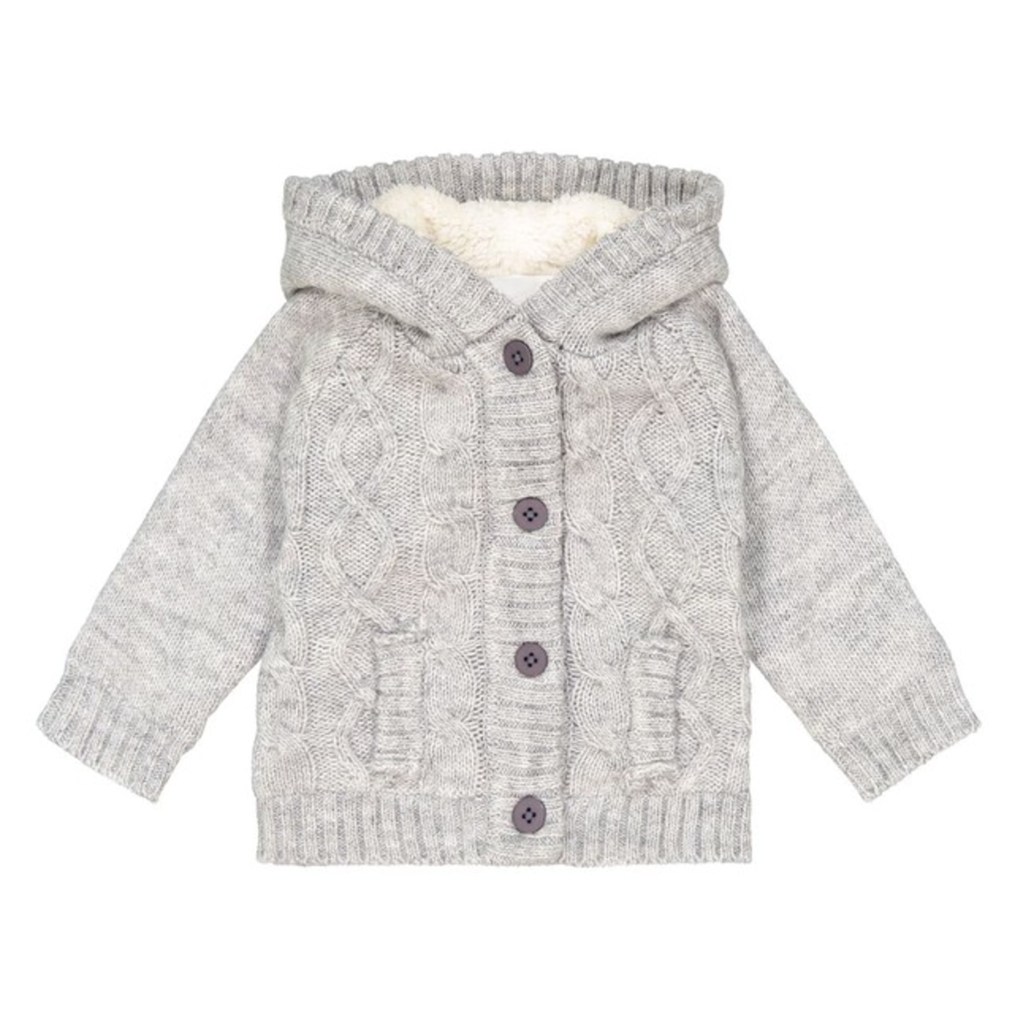 Gilet, cardigan LA REDOUTE Gris, anthracite