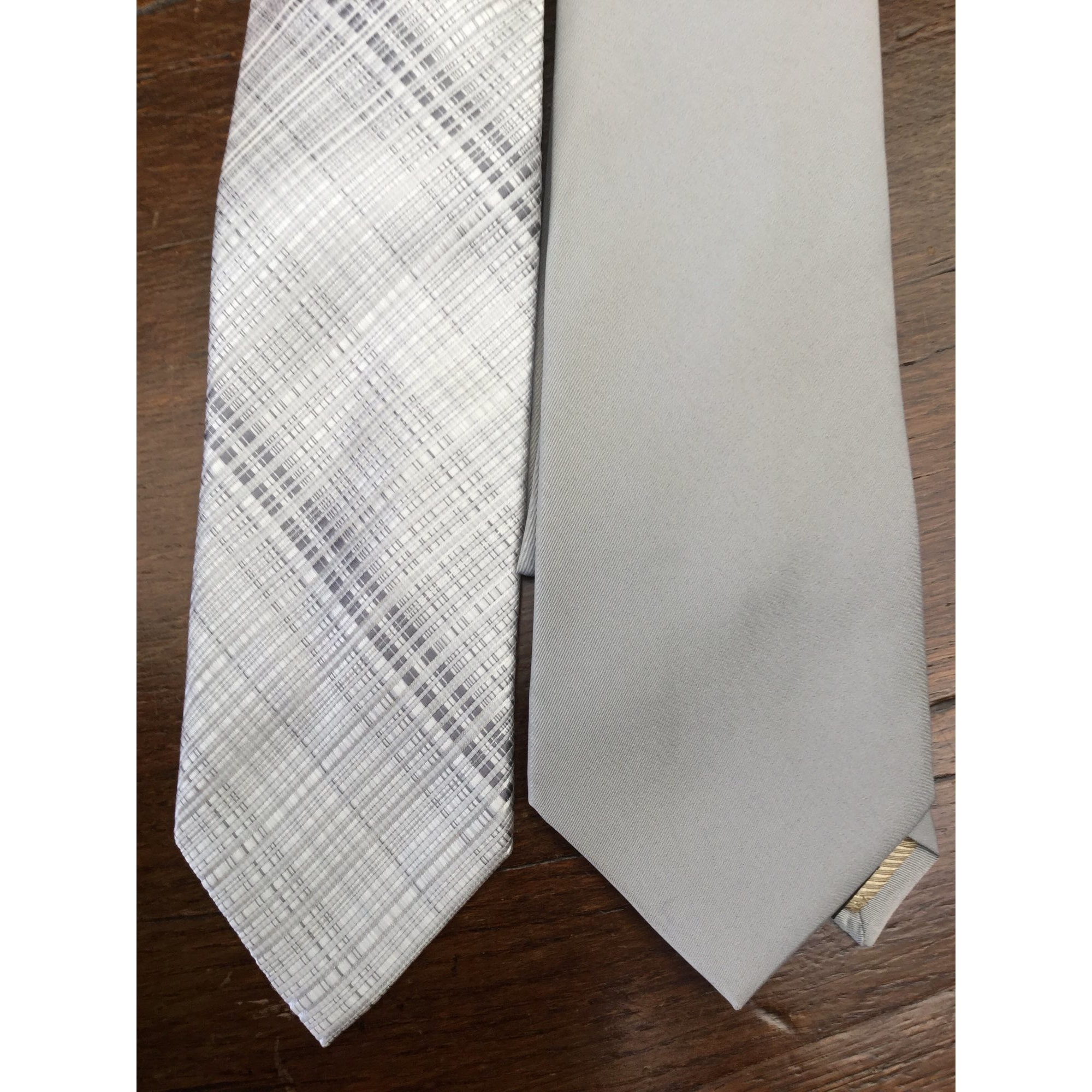 Tie RIFINO Silver