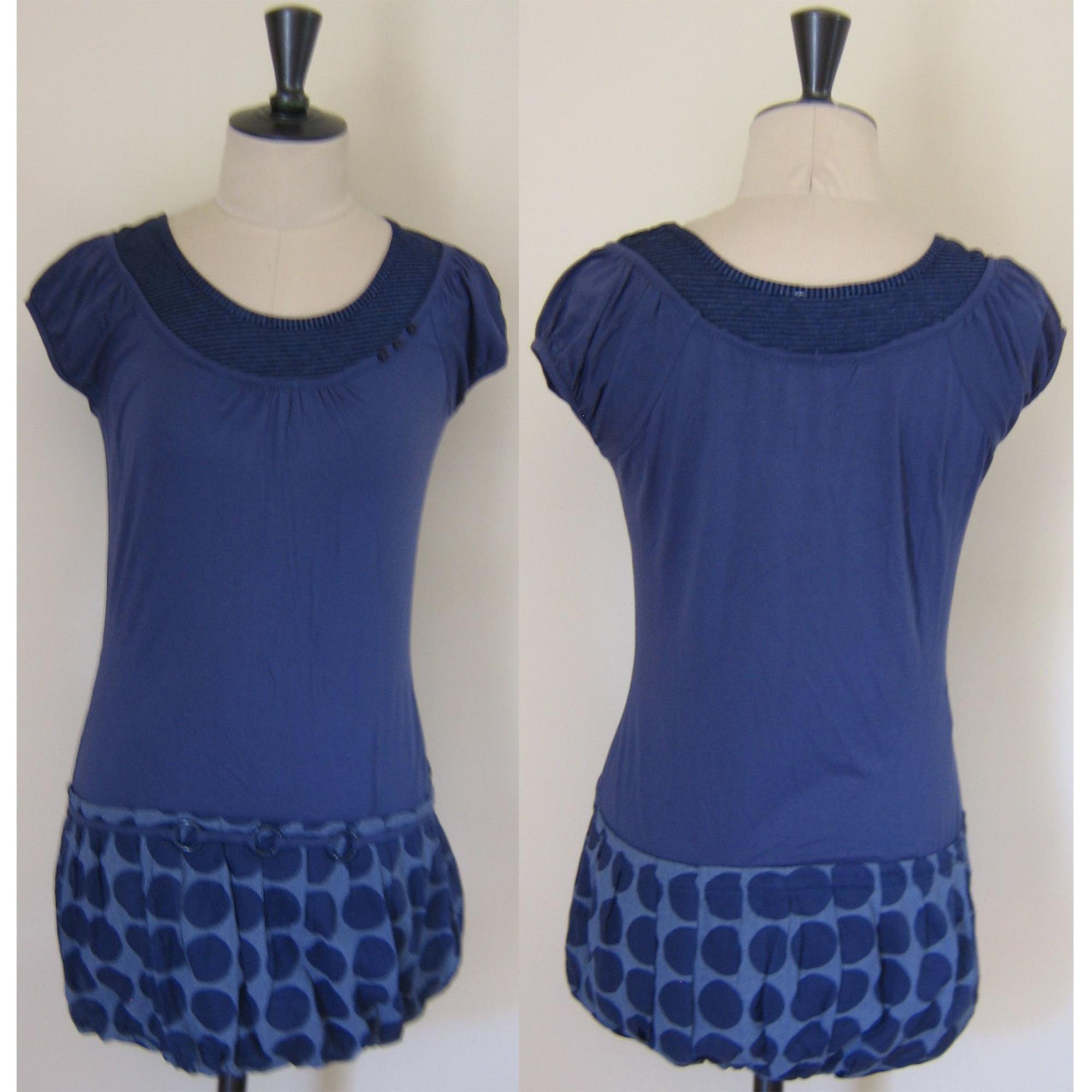 Robe tunique PROMOD Bleu, bleu marine, bleu turquoise