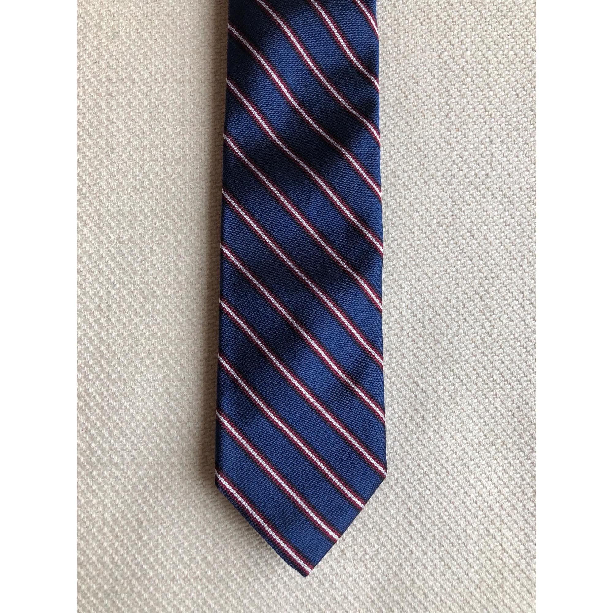 Cravate J CREW Bleu, bleu marine, bleu turquoise