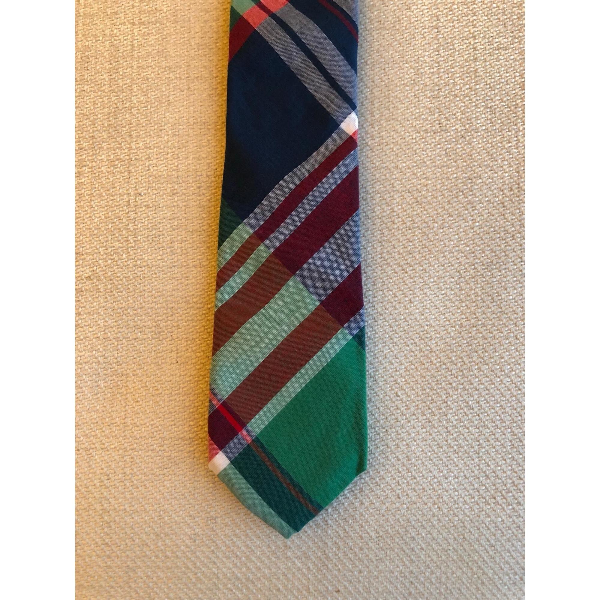 Cravate J CREW Vert