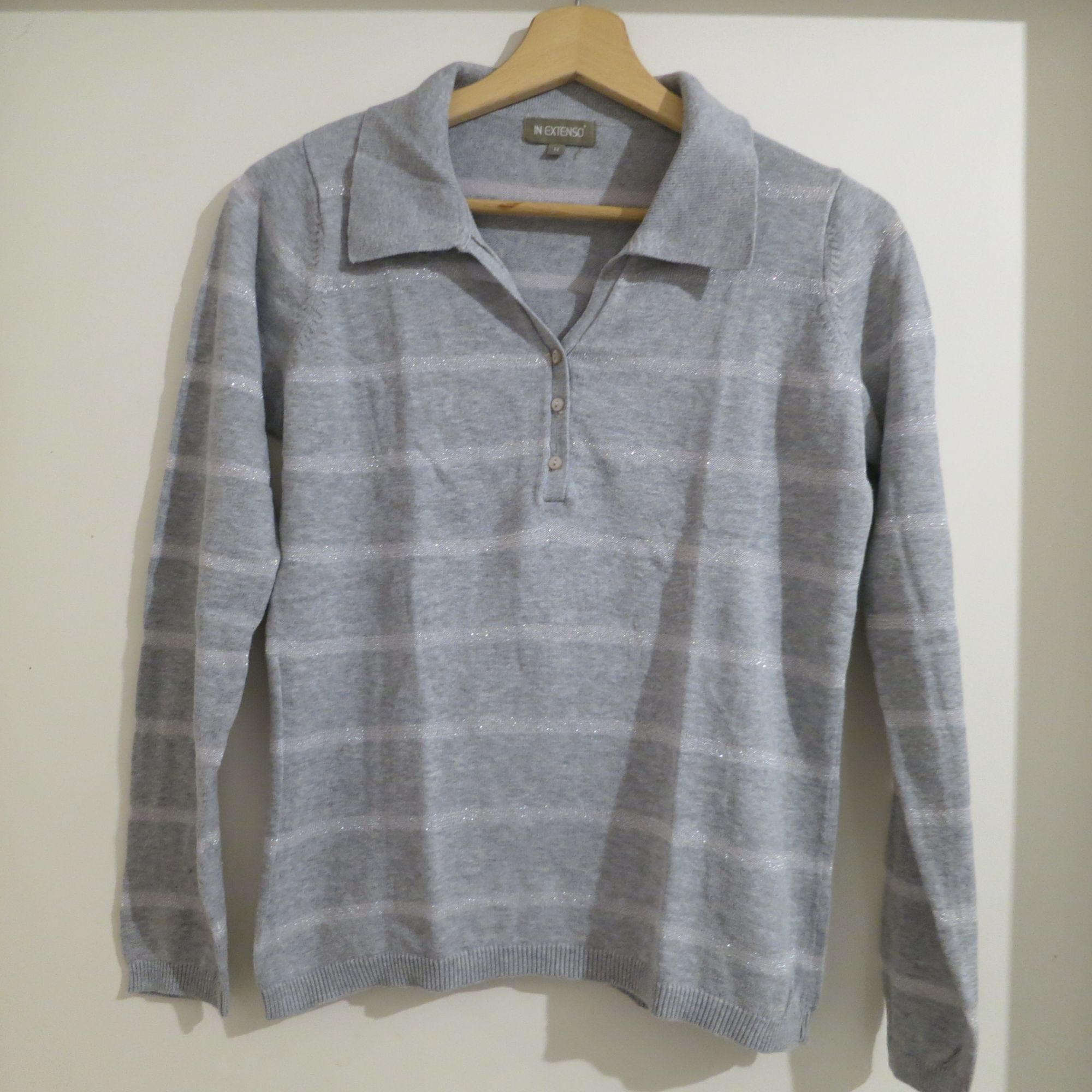 Pull IN EXTENSO Gris, anthracite