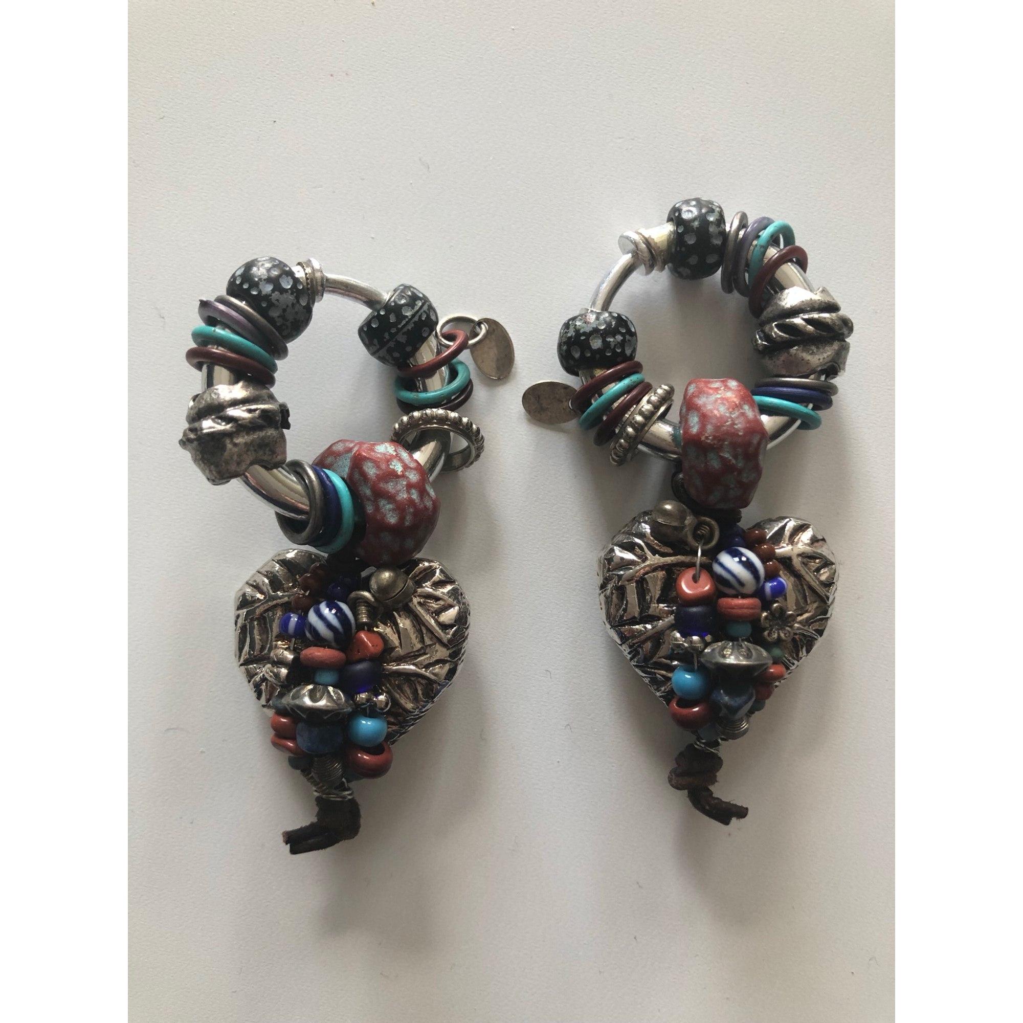 Boucles d'oreille REMINISCENCE Argenté, acier