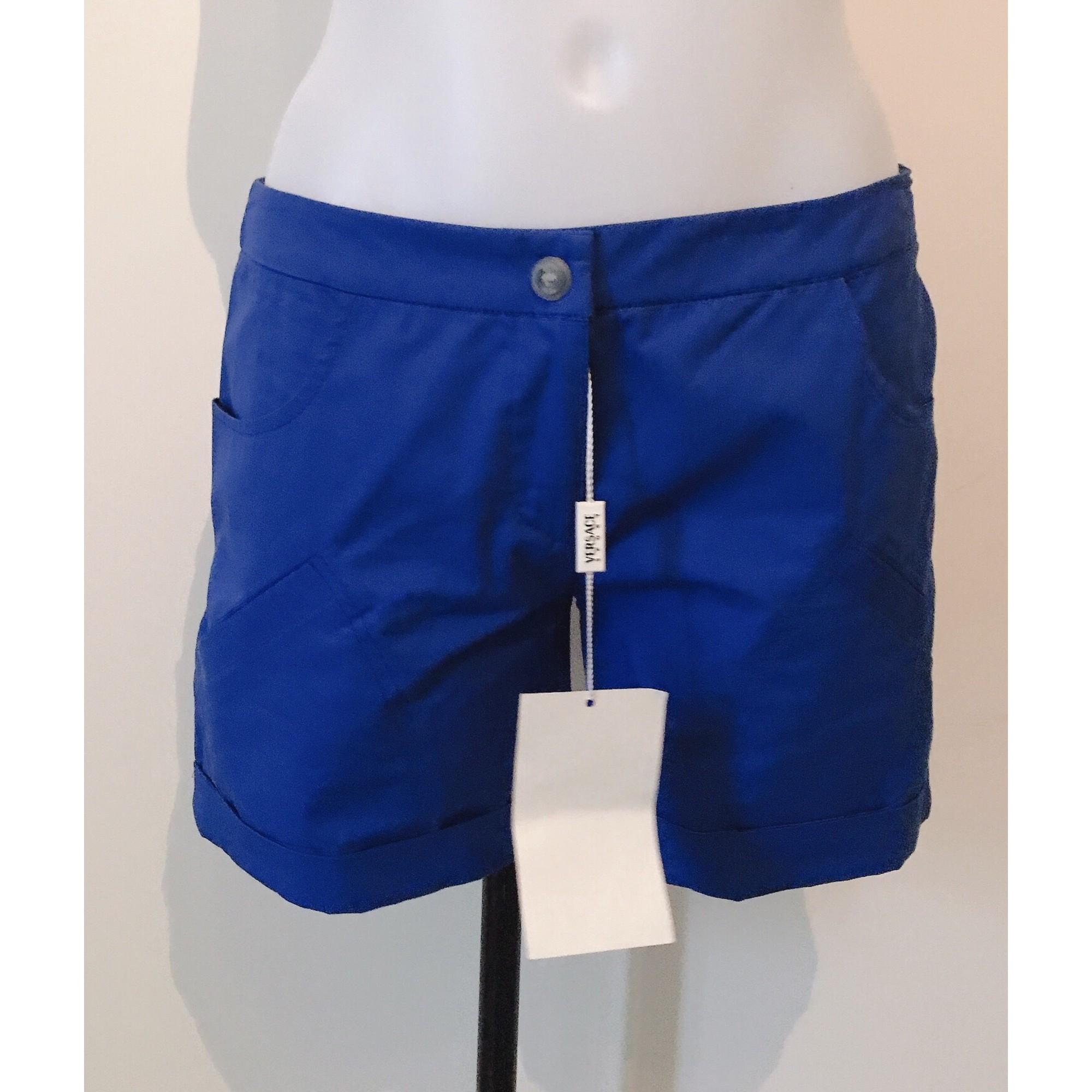 Short VERSACE Bleu, bleu marine, bleu turquoise