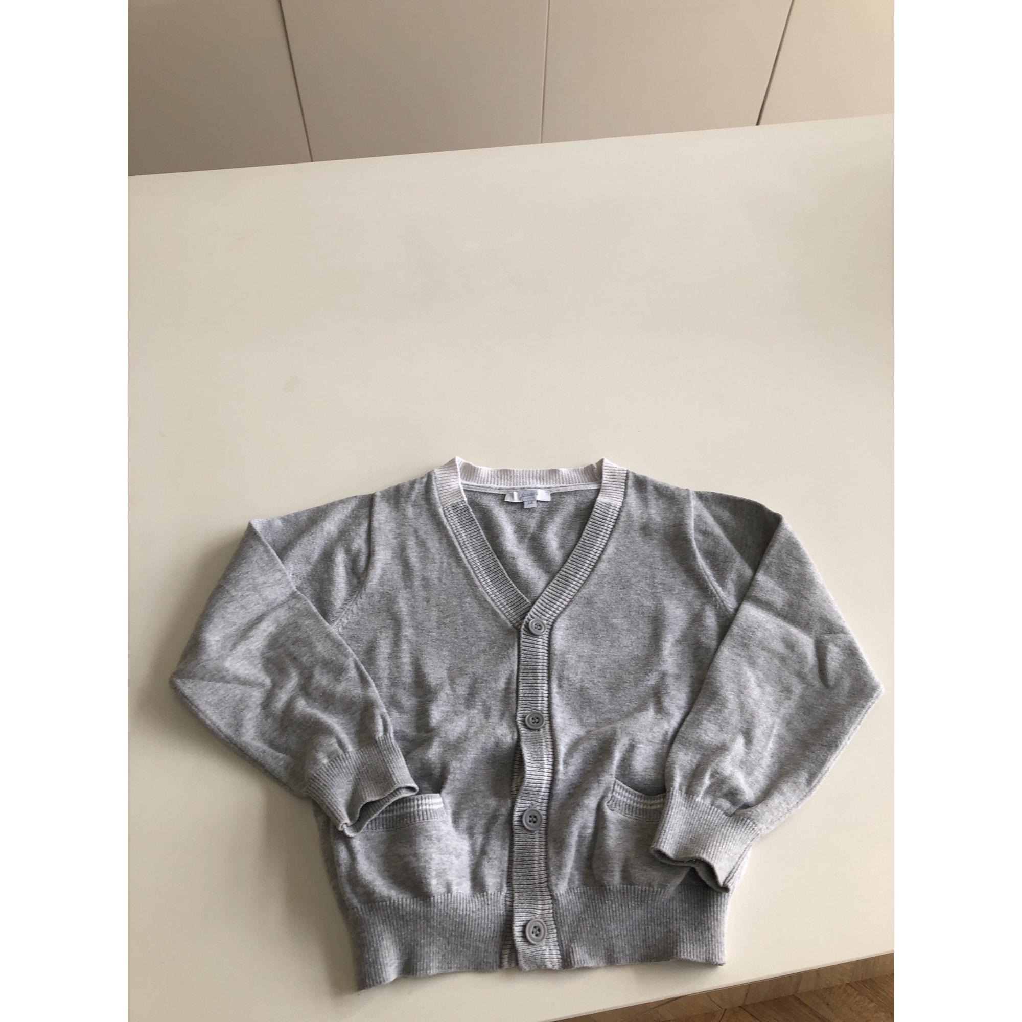 Vest, Cardigan JACADI Gray, charcoal