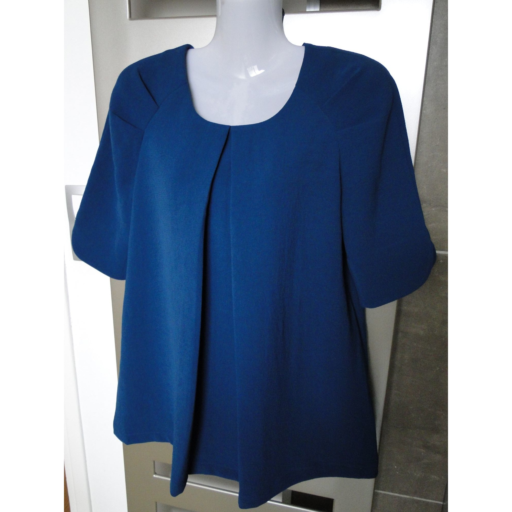 Blouse COMPTOIR DES COTONNIERS Bleu, bleu marine, bleu turquoise