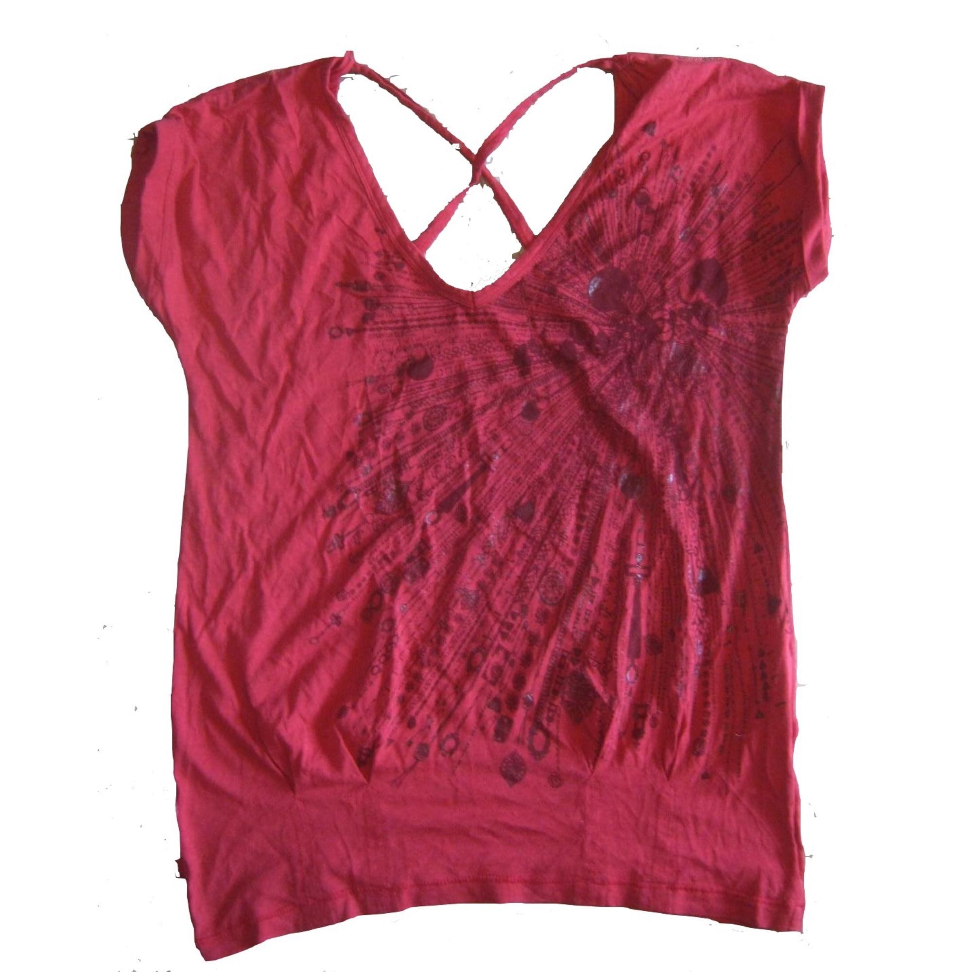 Top, tee-shirt LEVI'S Rouge, bordeaux