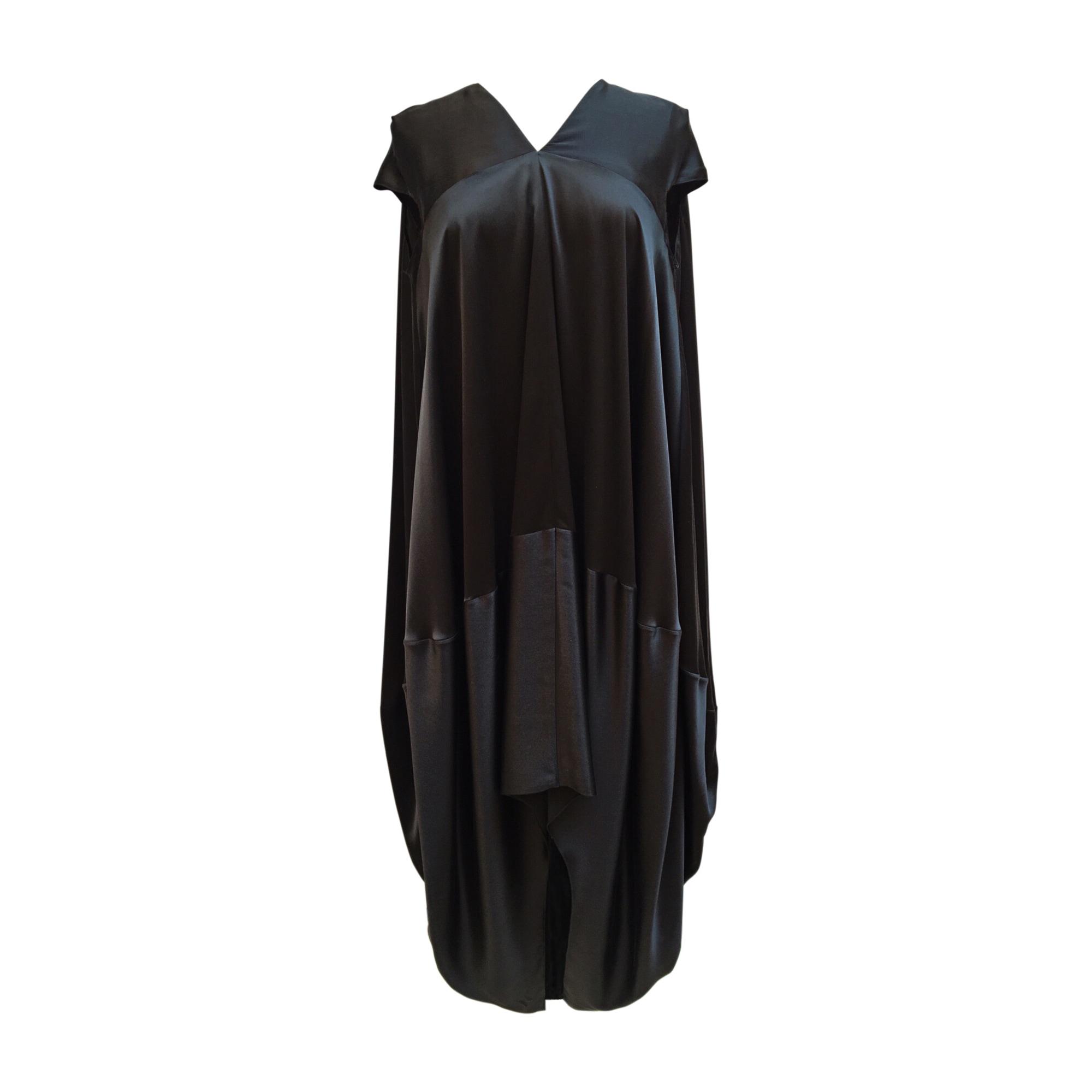 Robe longue YVES SAINT LAURENT Noir