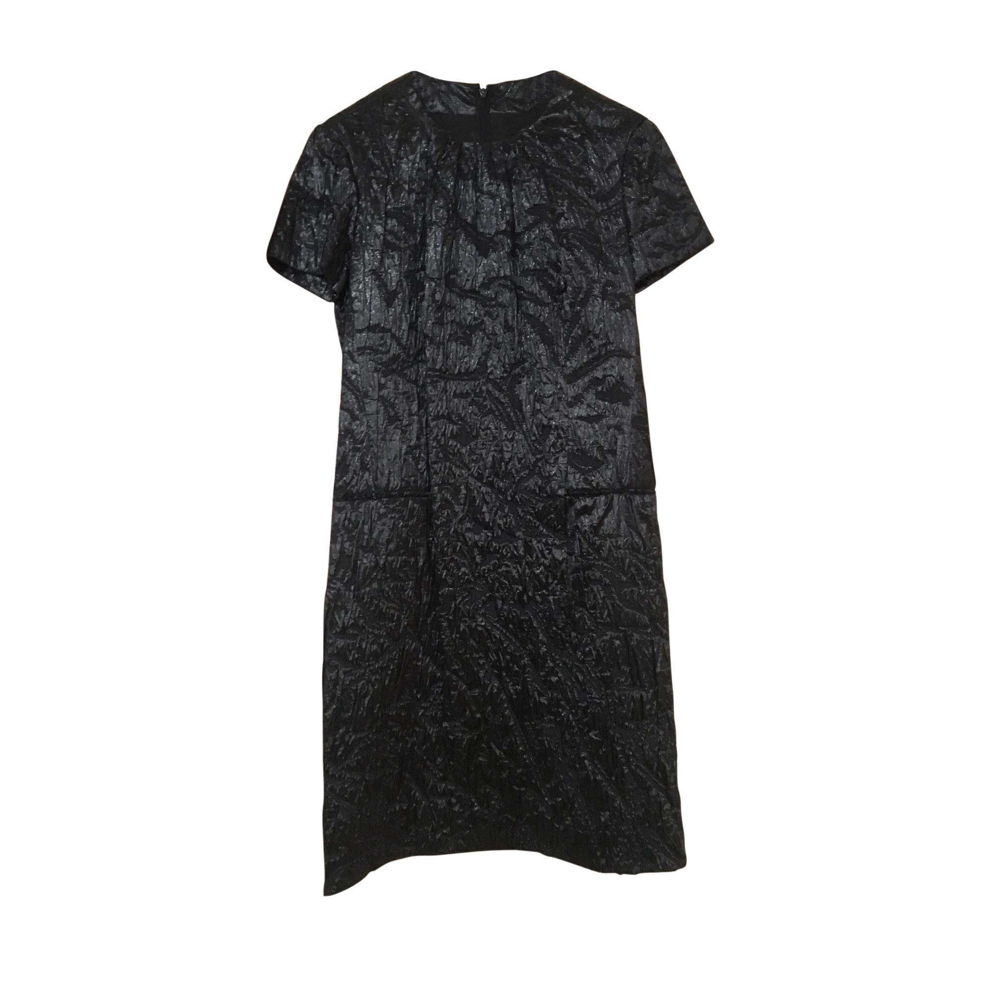 Robe courte YVES SAINT LAURENT Noir
