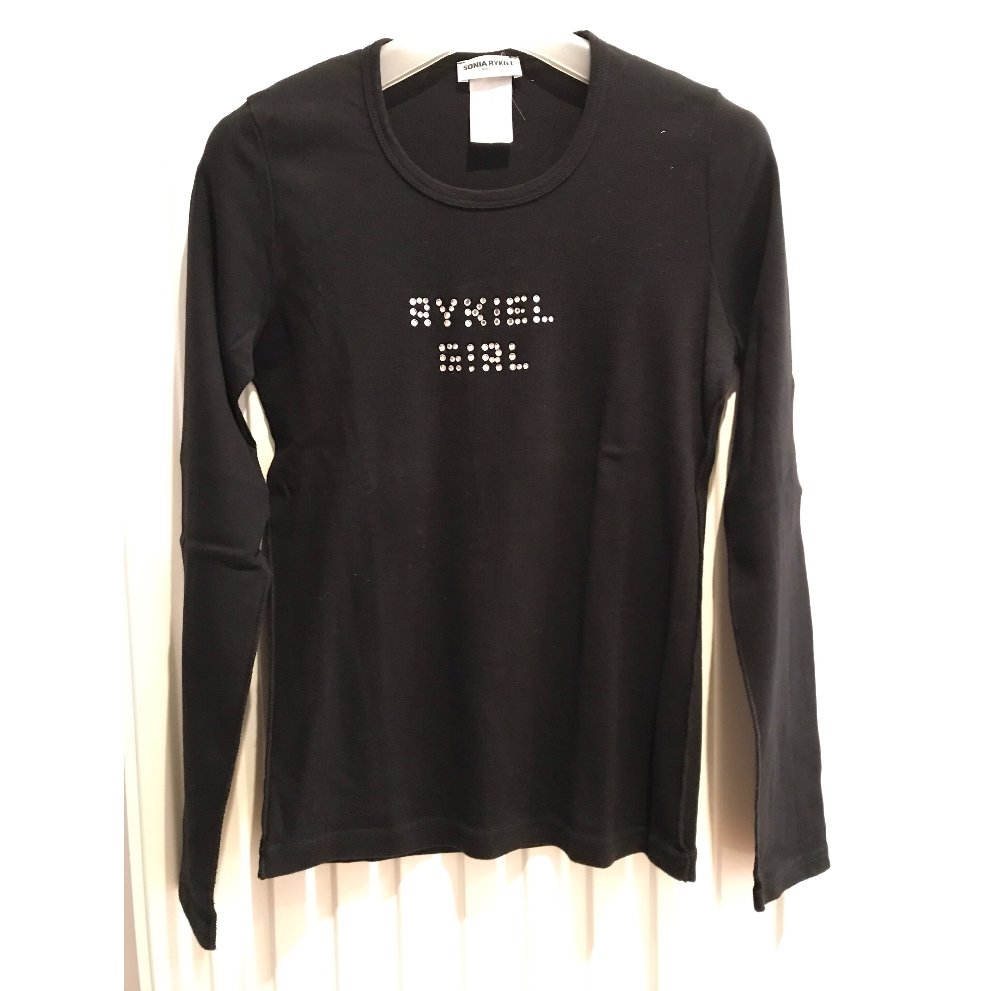 Top, tee-shirt SONIA RYKIEL Noir