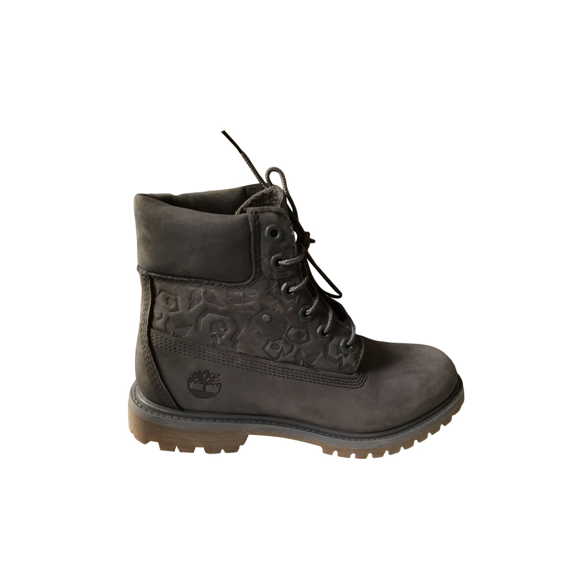 Bottes plates TIMBERLAND Gris, anthracite
