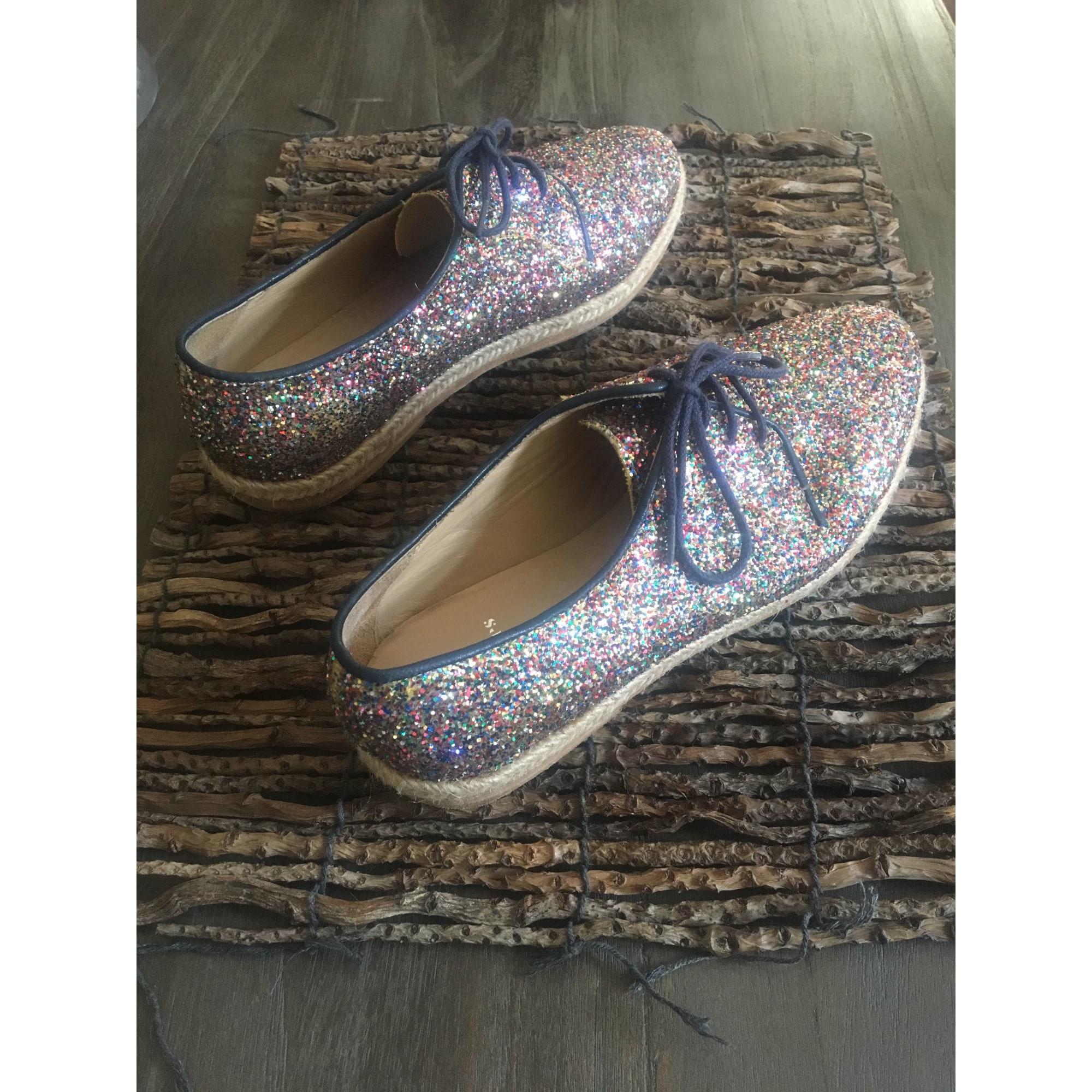 Chaussures à lacets  BOBBIES Paillettes / bleu