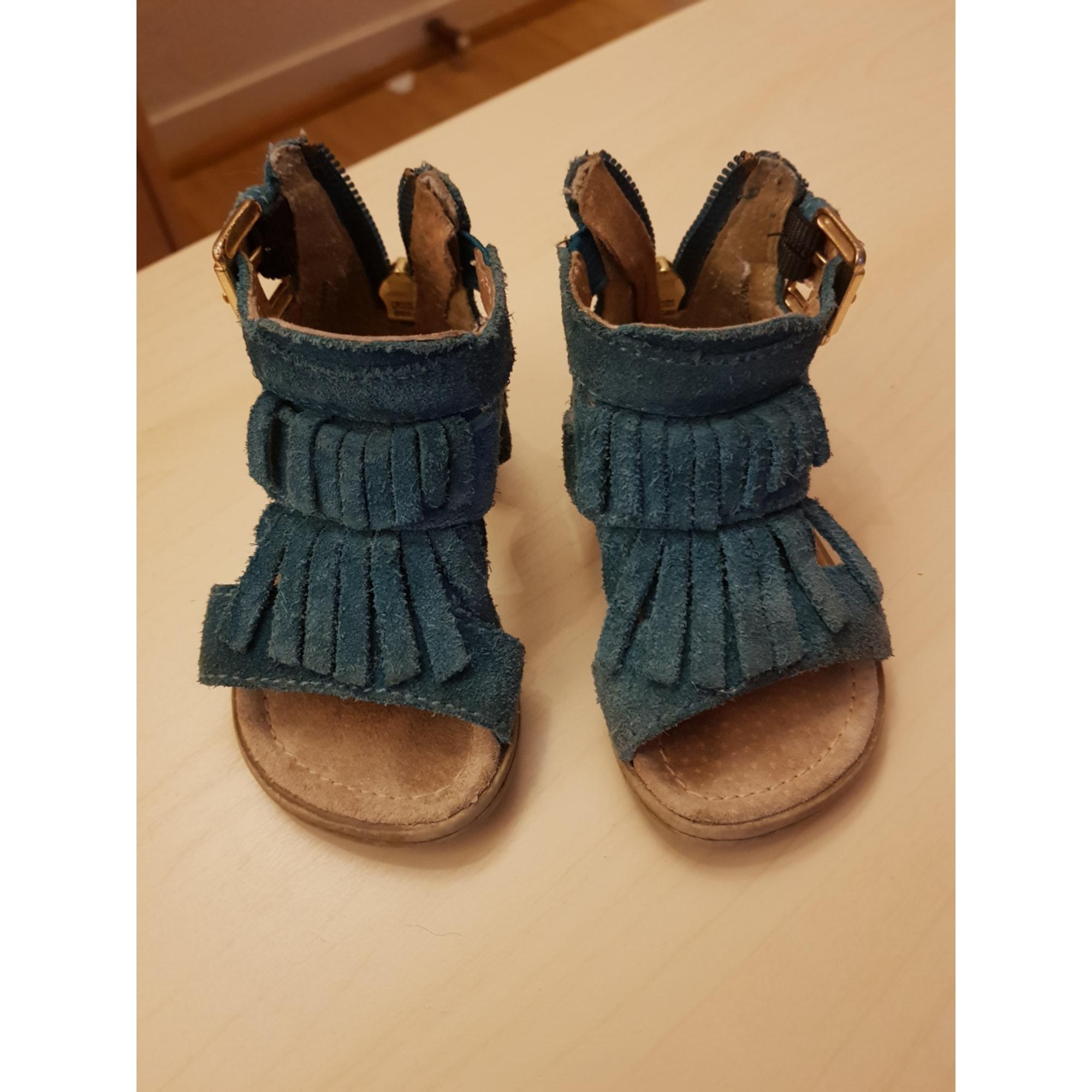 Sandales CREEKS Bleu, bleu marine, bleu turquoise