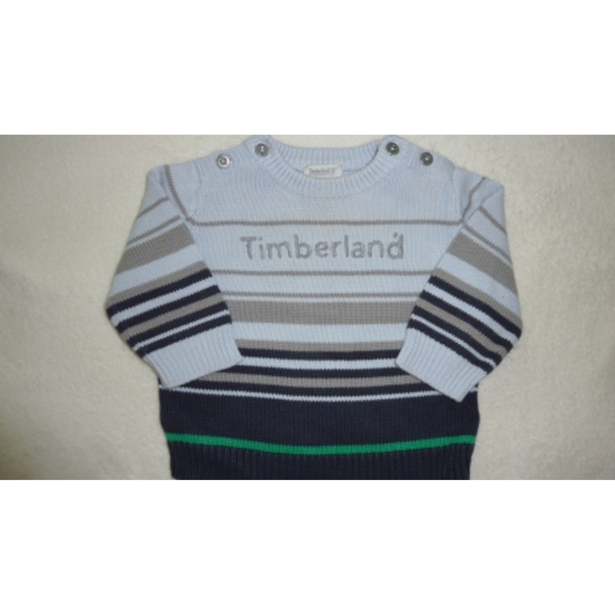 Pull TIMBERLAND Bleu, bleu marine, bleu turquoise