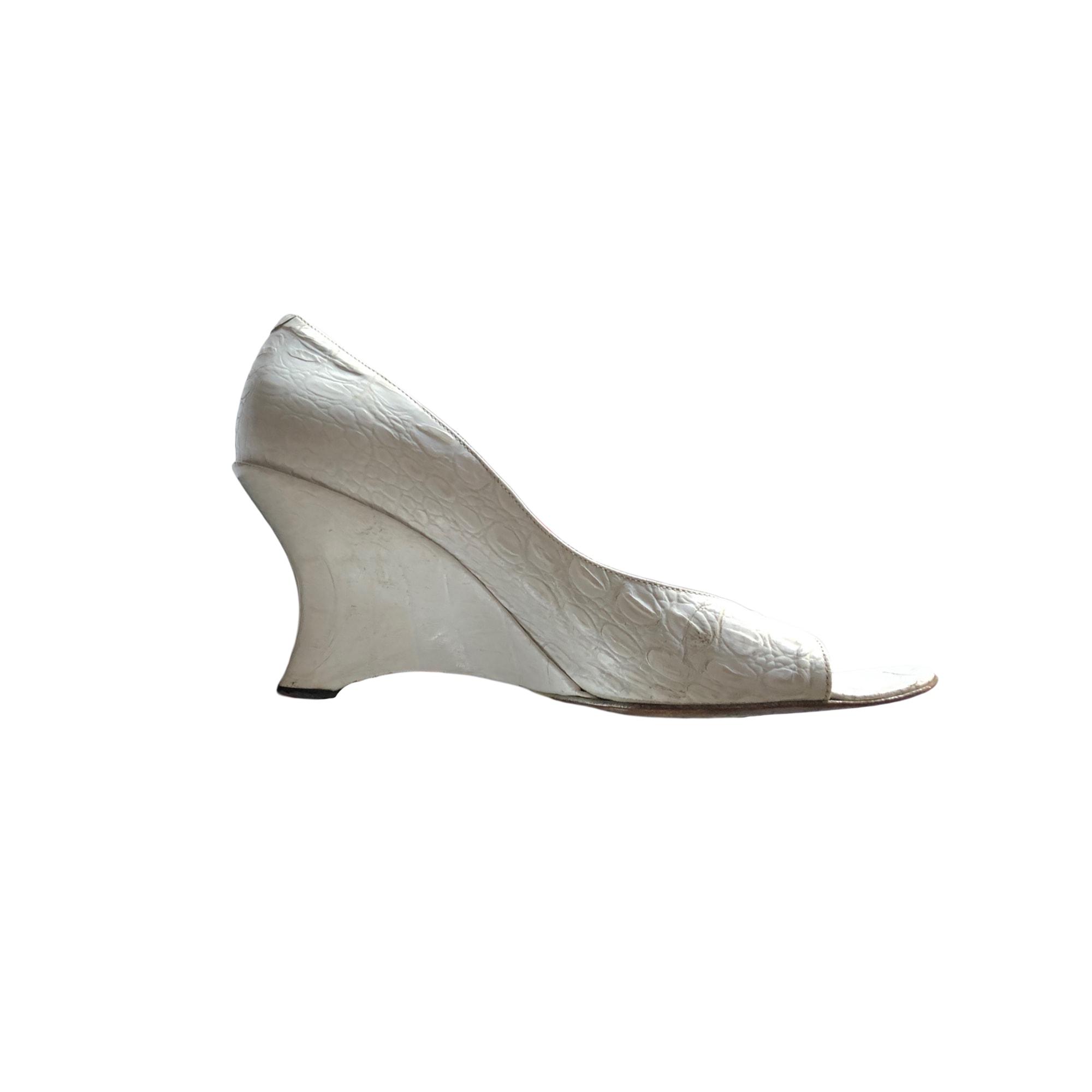 Sandales à talons FREE LANCE Blanc, blanc cassé, écru