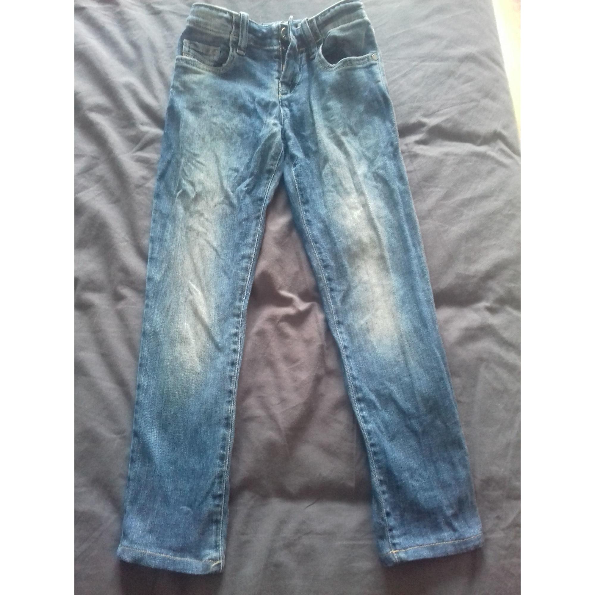 Jeans droit DIESEL Bleu, bleu marine, bleu turquoise