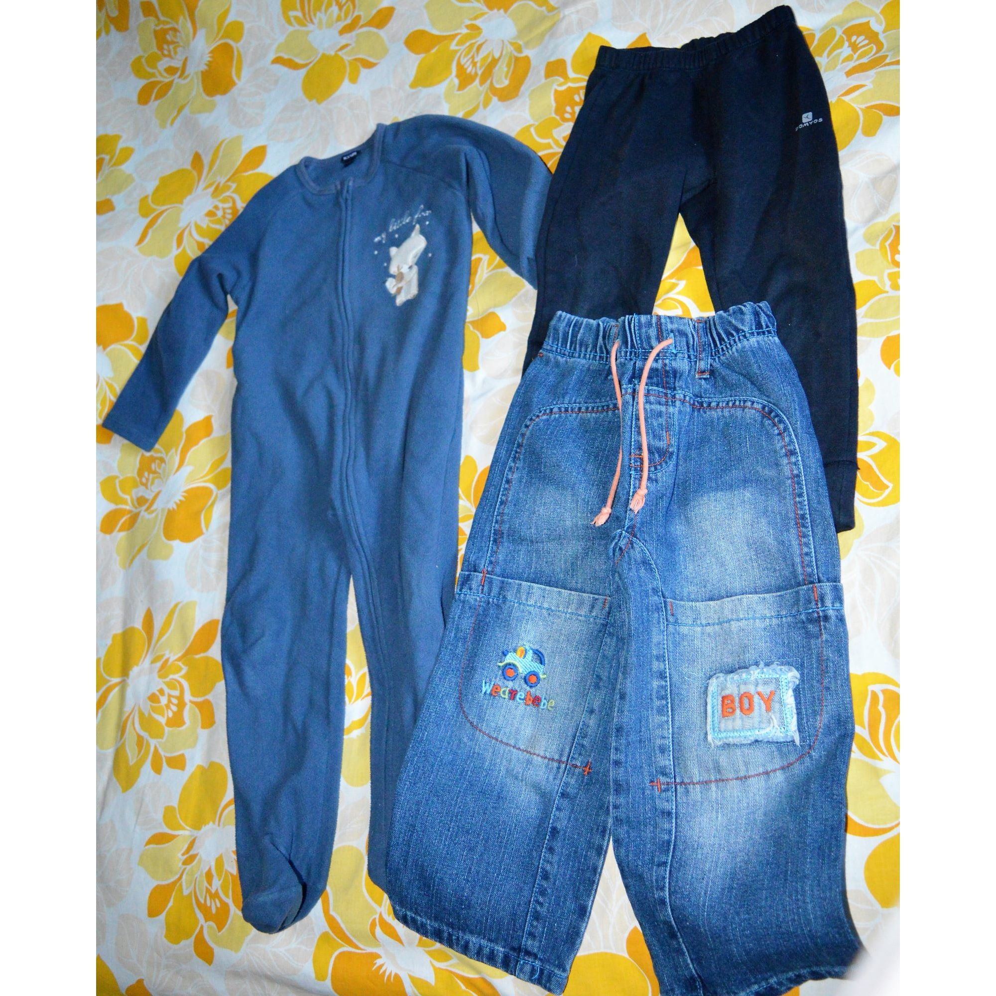 Pants Set, Outfit DIVERSES Multicolor