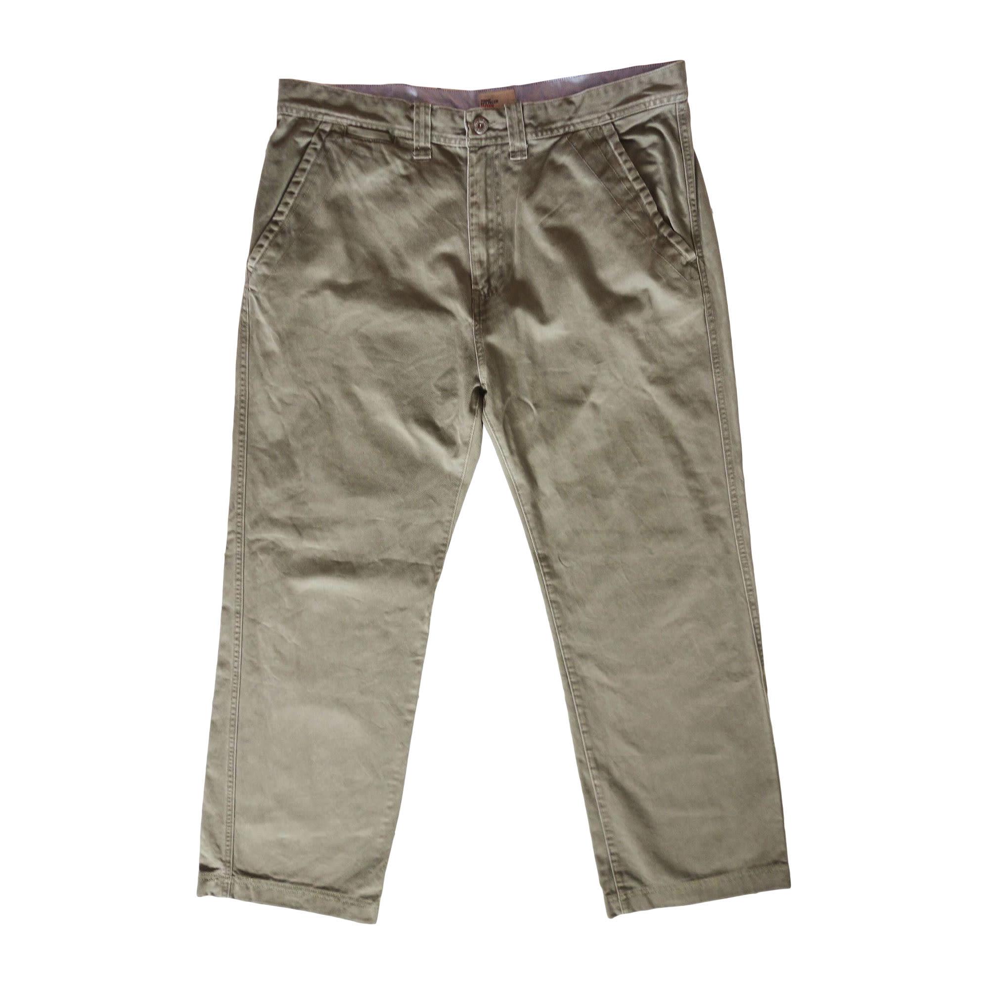 Jeans large TOMMY HILFIGER Kaki