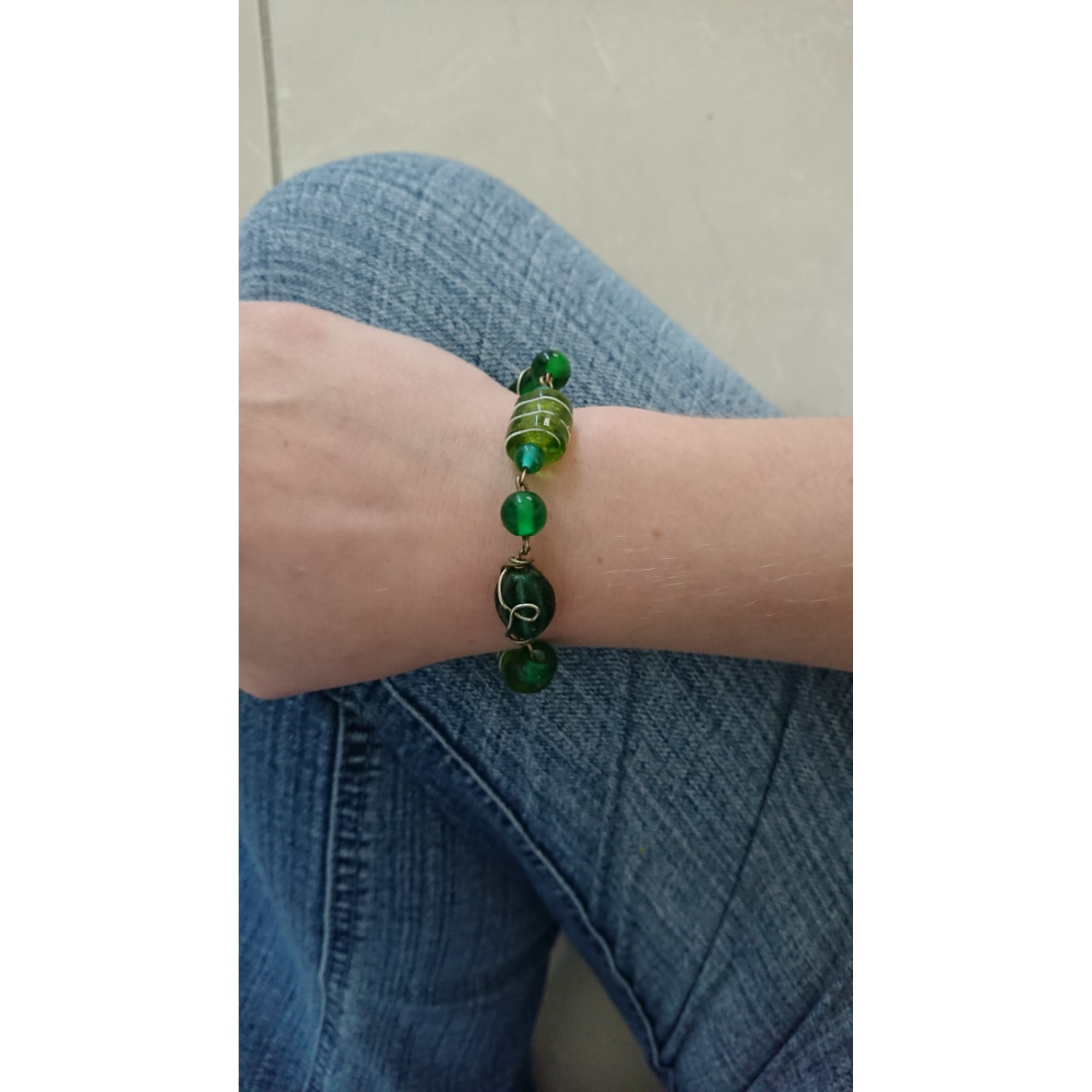 Bracelet MARQUE INCONNUE Vert