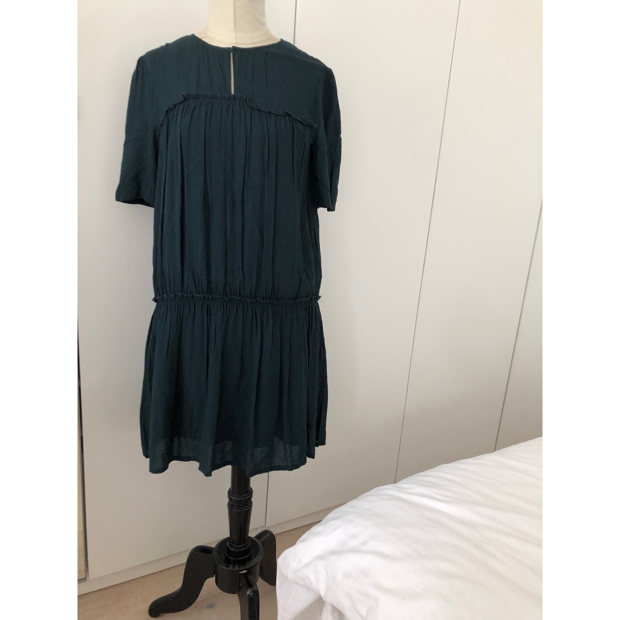 Robe courte BERENICE Vert
