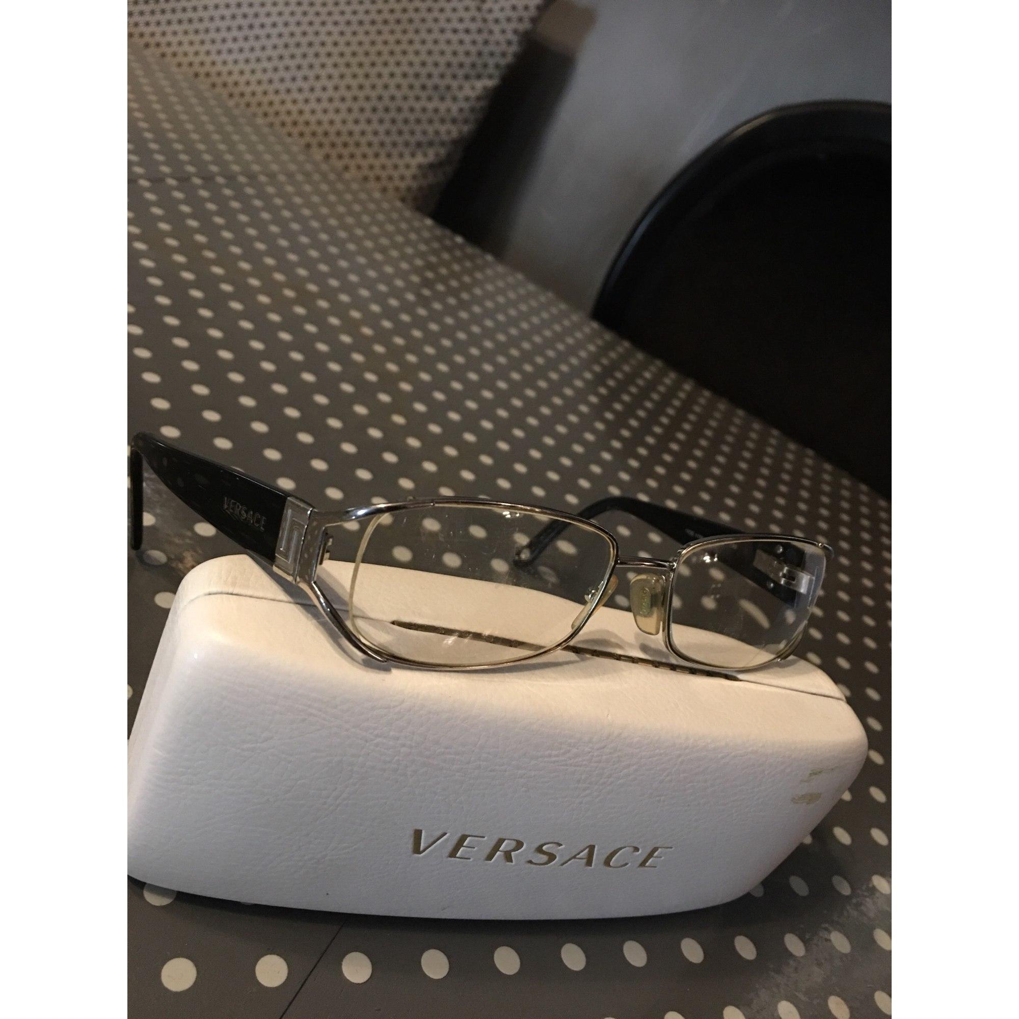 Monture de lunettes VERSACE Argenté, acier