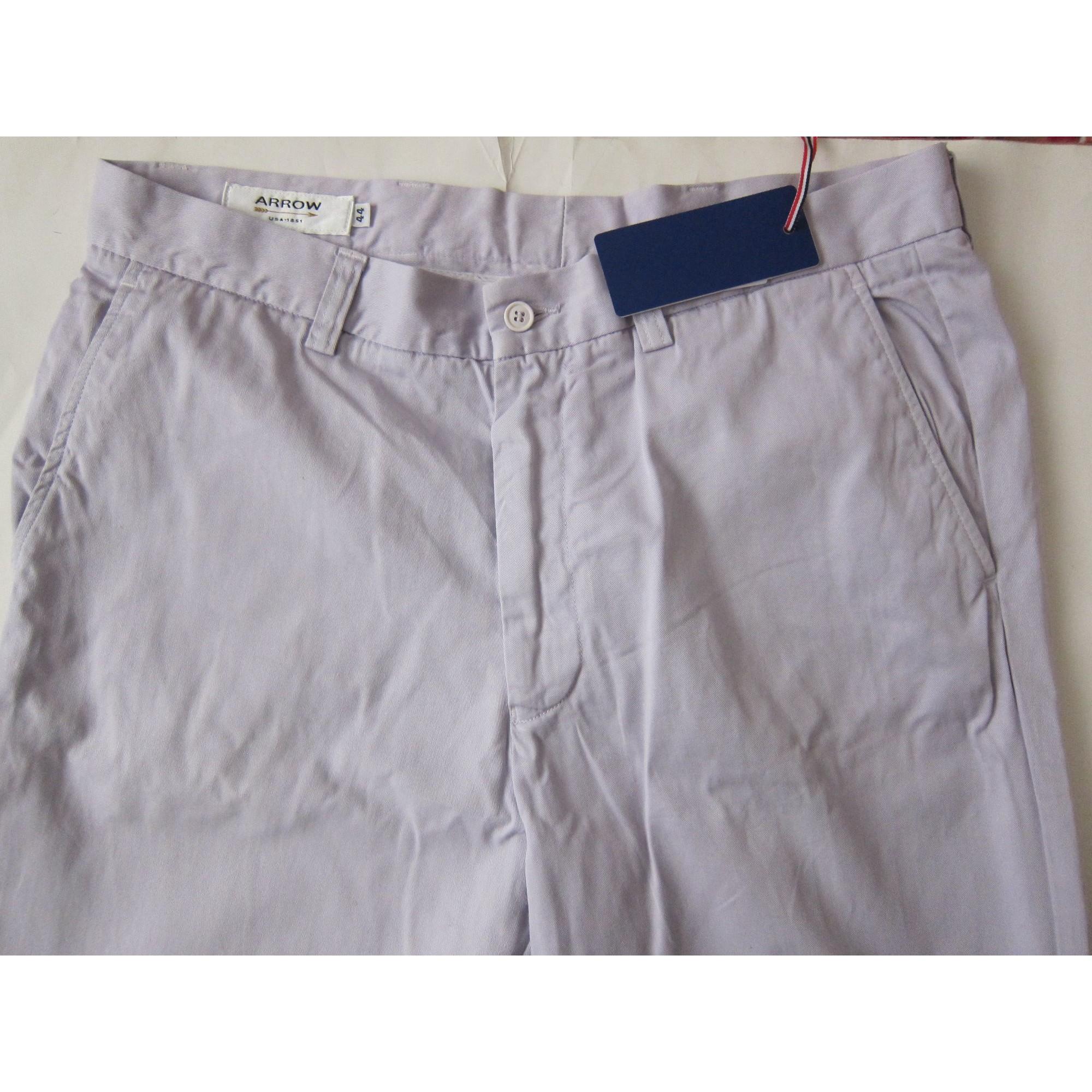 Pantalon droit ARROW Violet, mauve, lavande