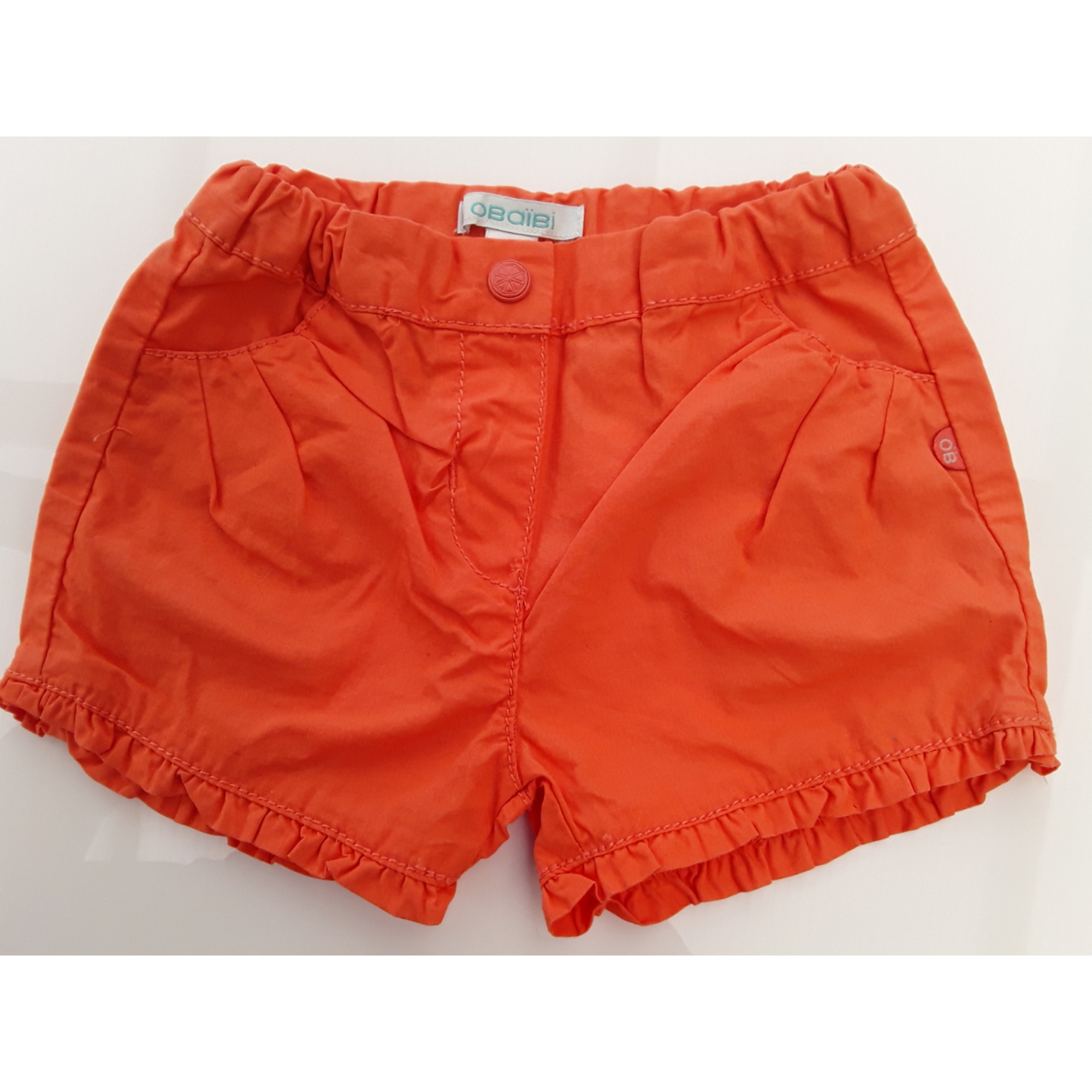 Shorts OBAIBI Orange