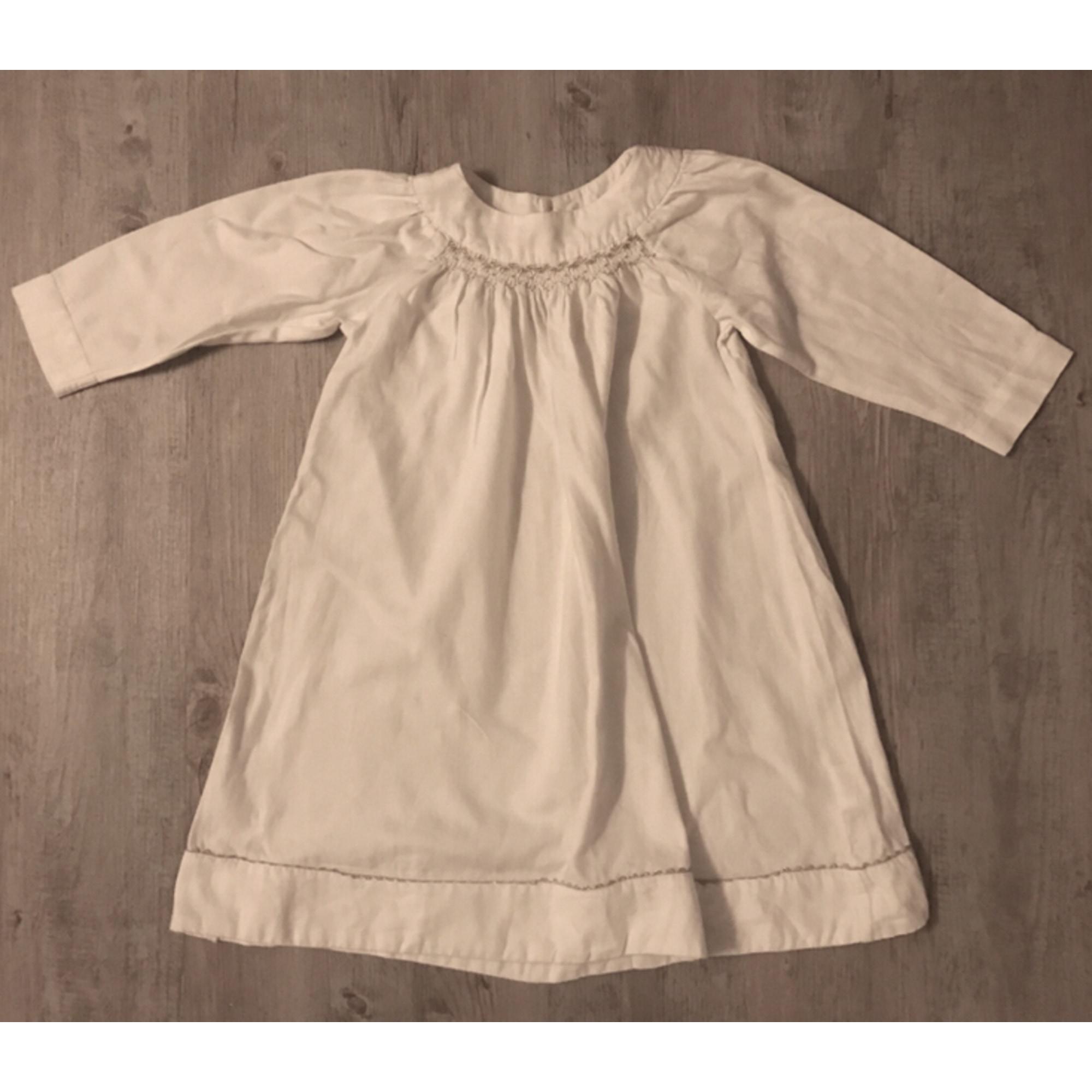 Chemise de nuit JACADI Blanc, blanc cassé, écru