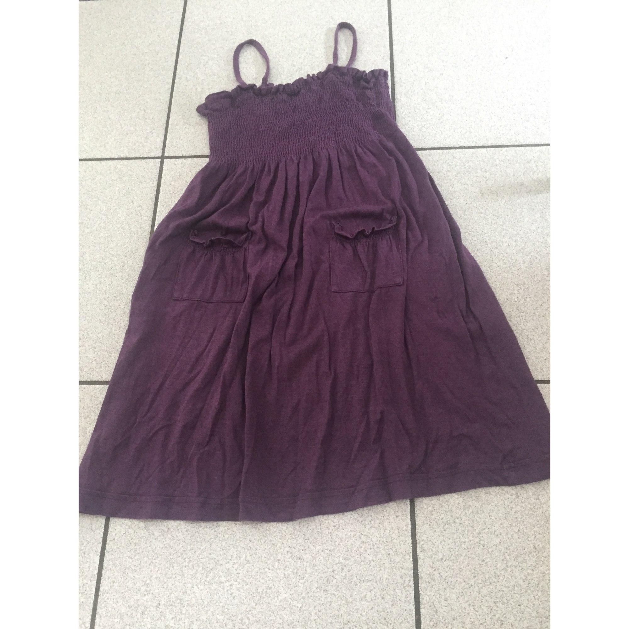 Robe PETIT BATEAU Violet, mauve, lavande