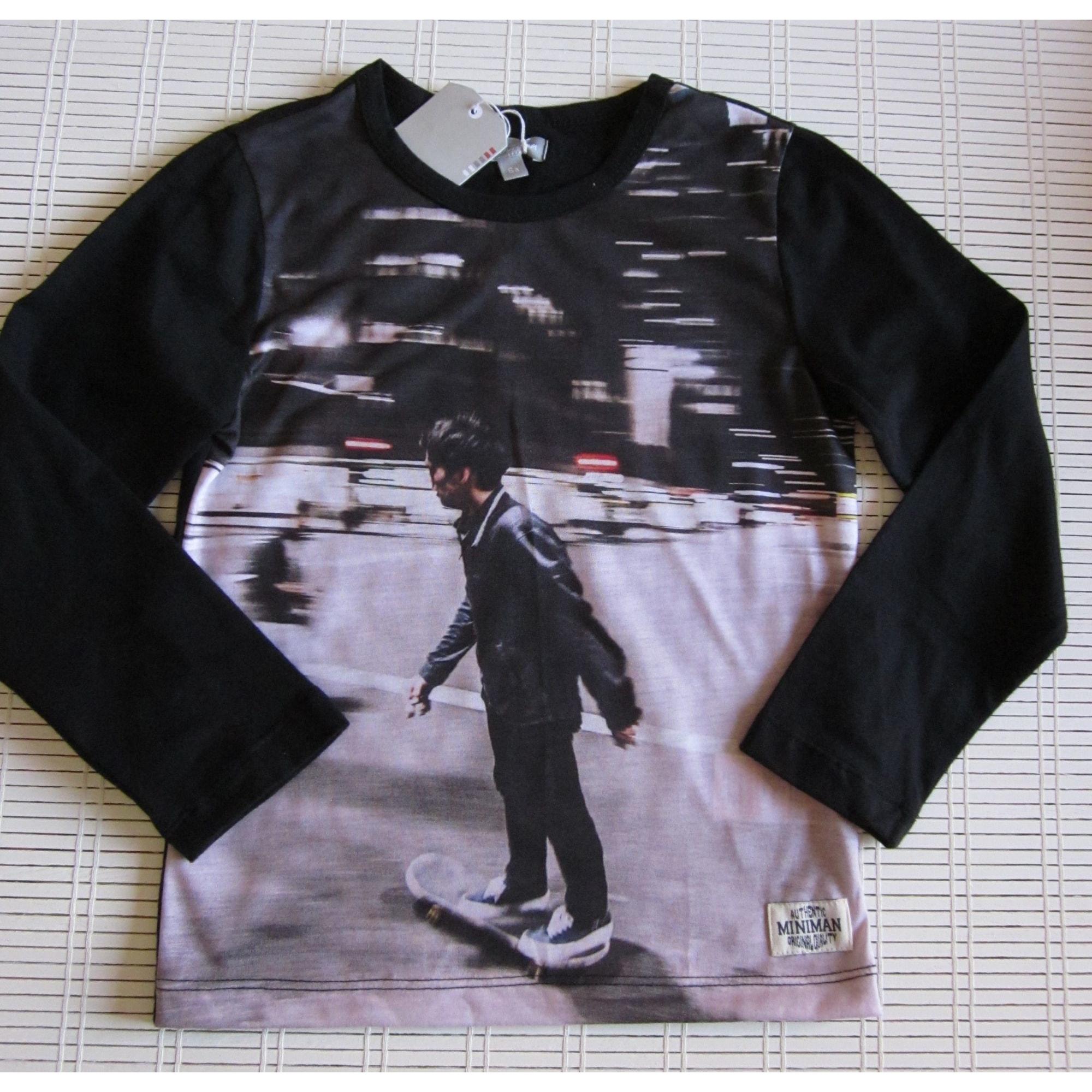 Tee-shirt MINIMAN Noir
