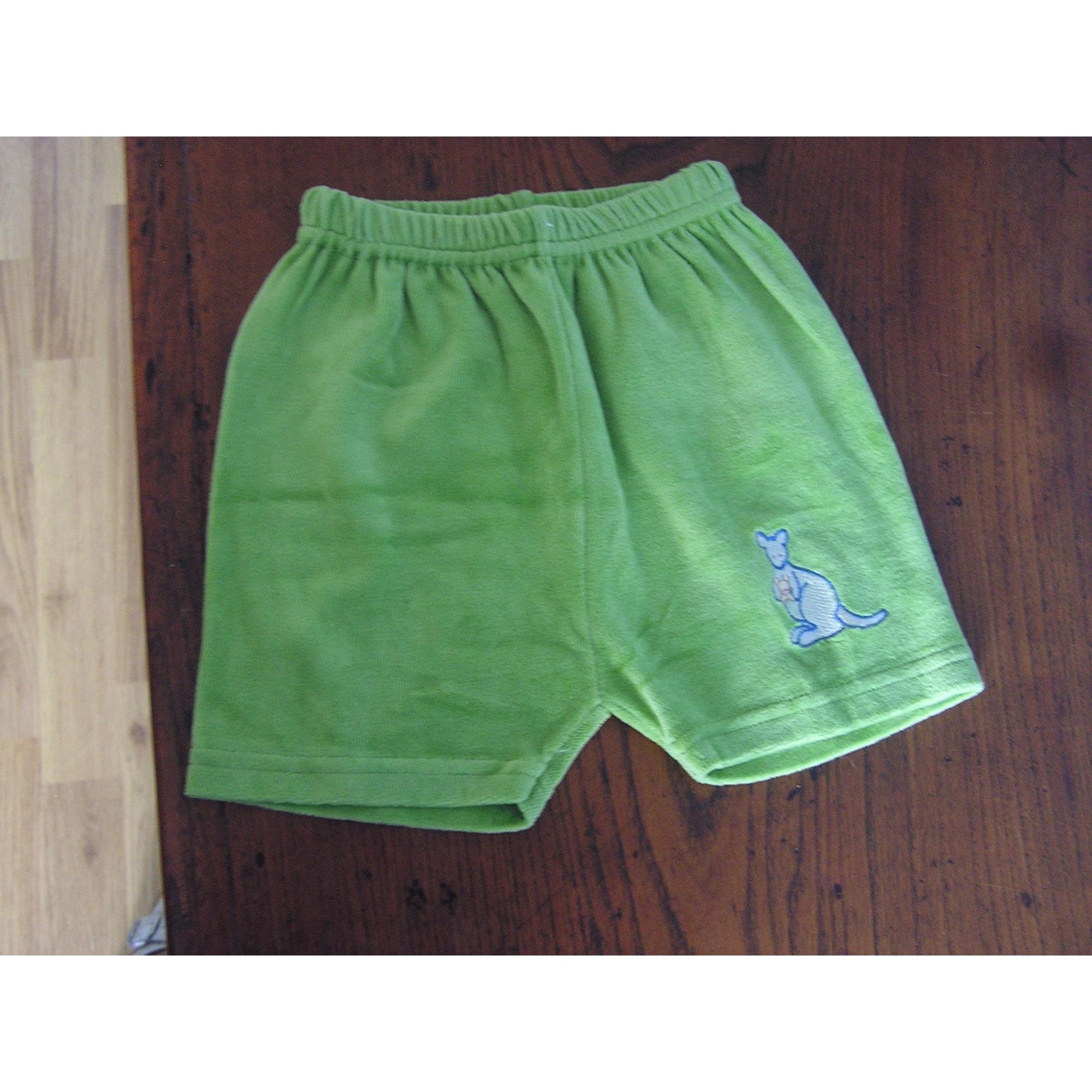 Short MARQUE INCONNUE Vert