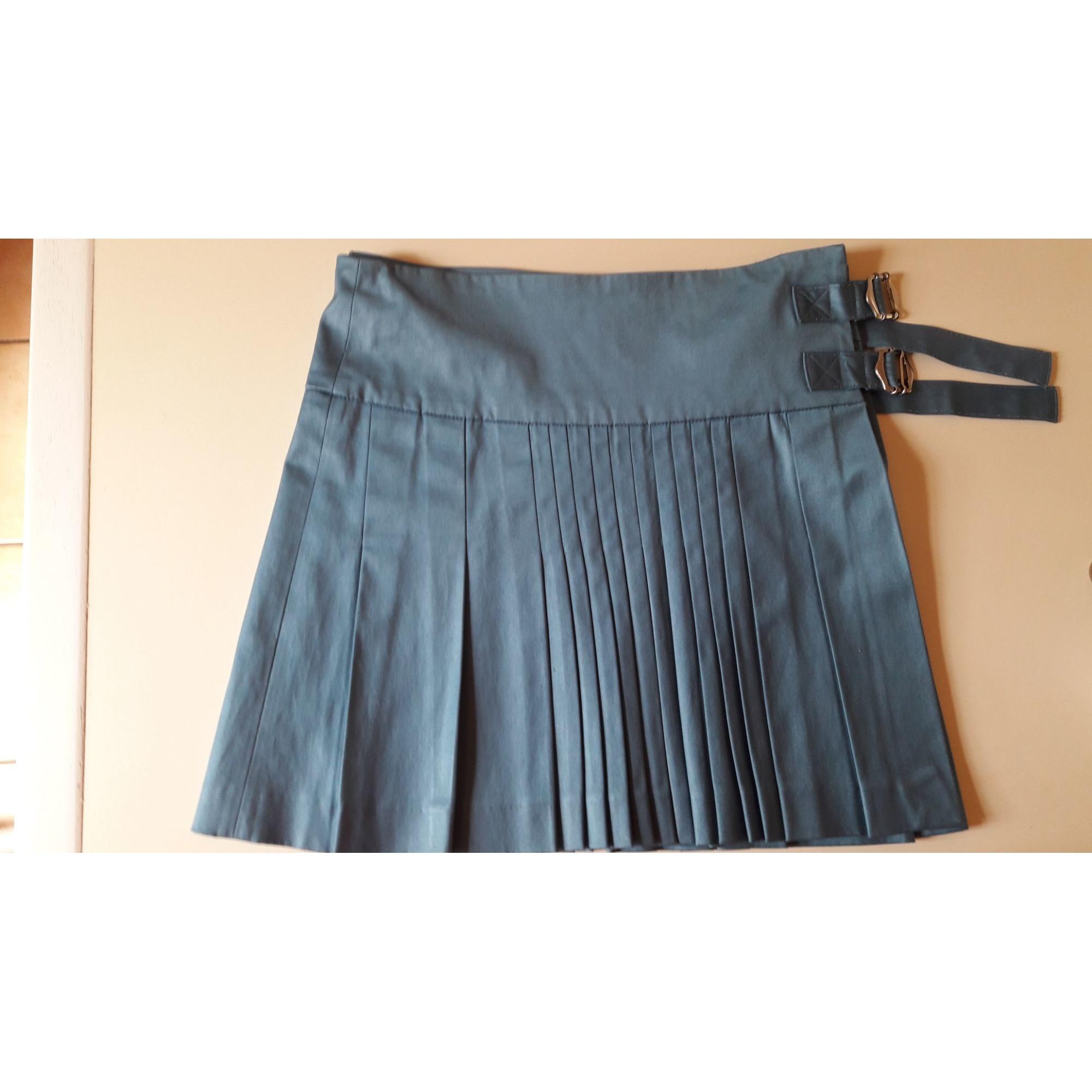 Jupe courte LOLA Bleu, bleu marine, bleu turquoise