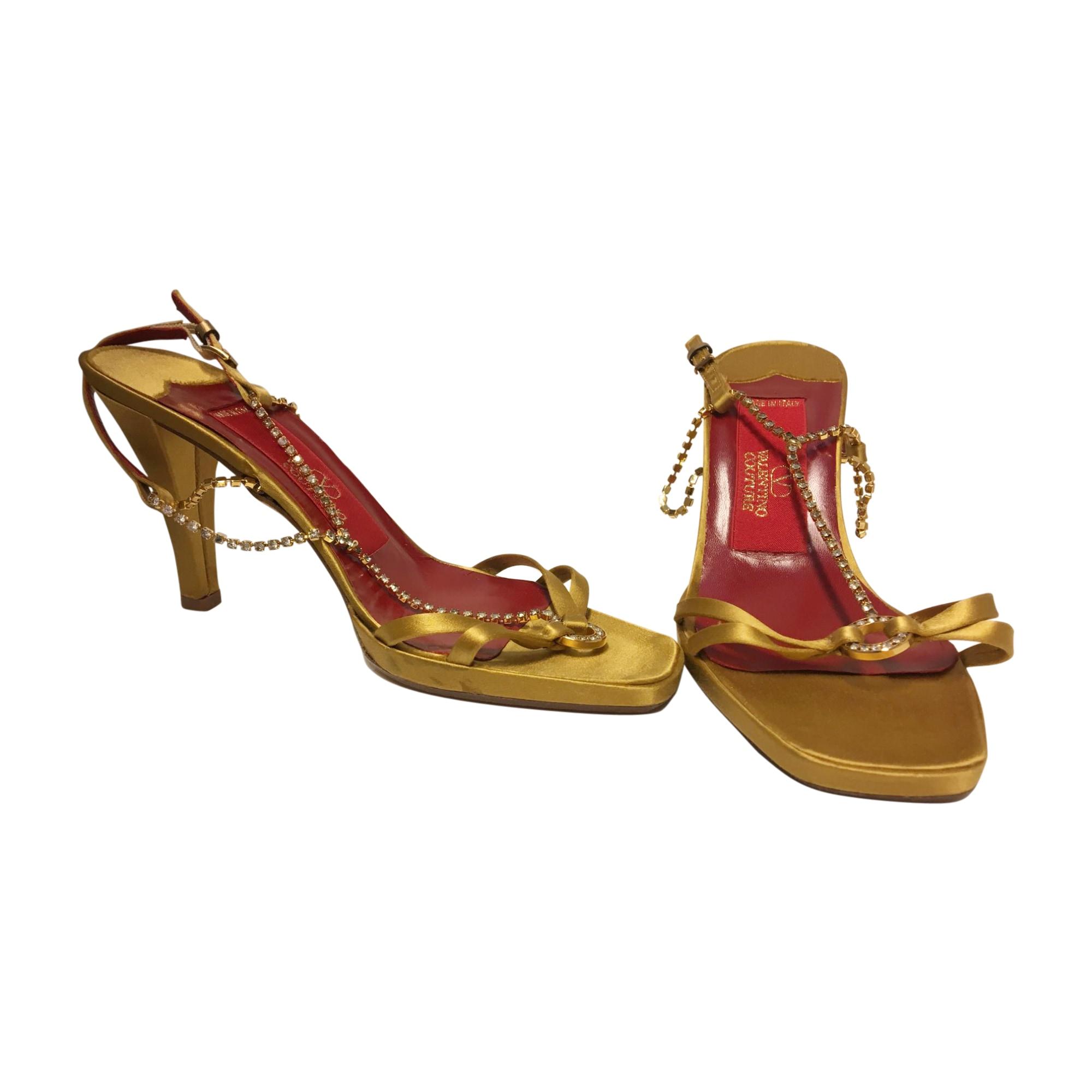 Sandales à talons VALENTINO Jaune